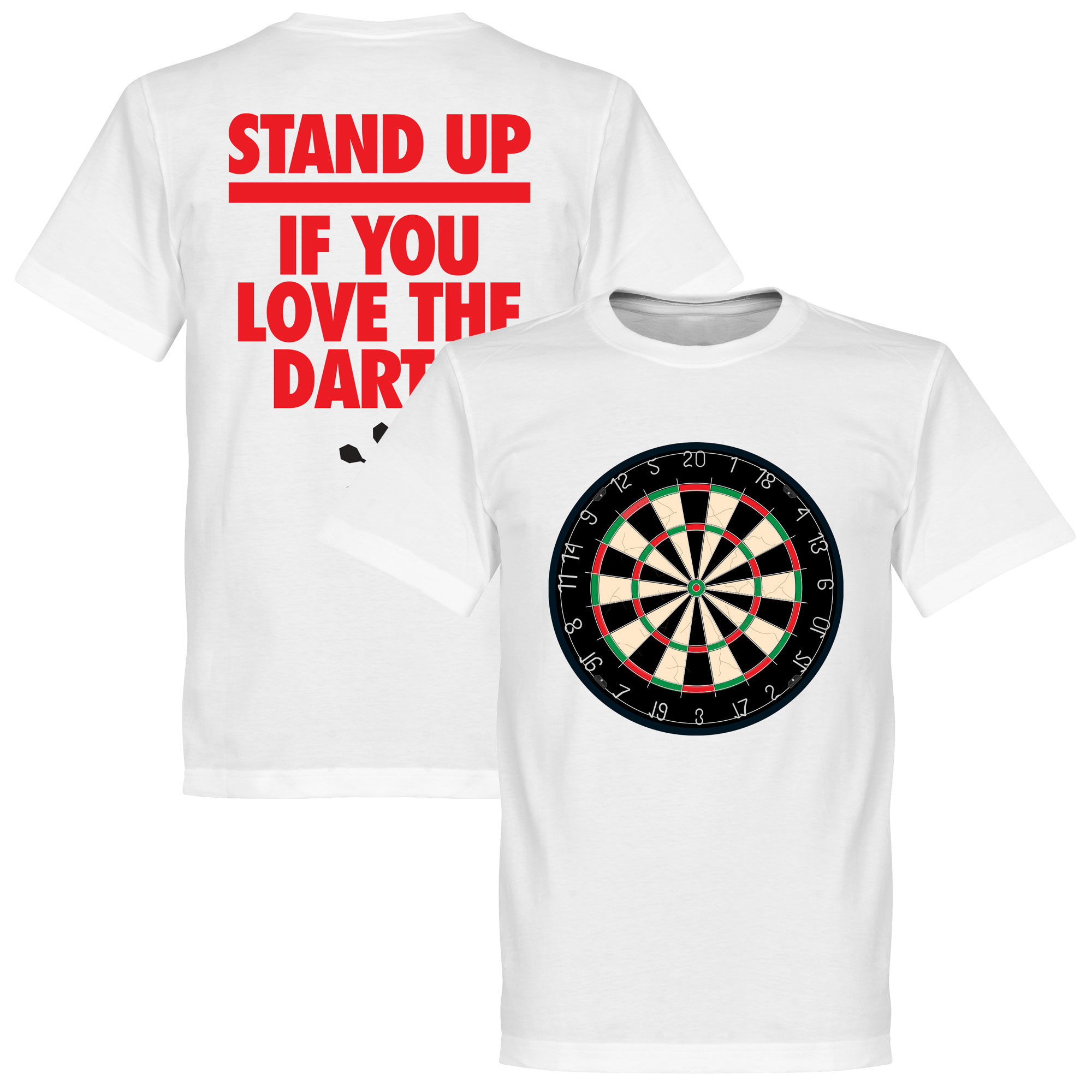 Stand Up If You Love The Darts T-Shirt - 5XL