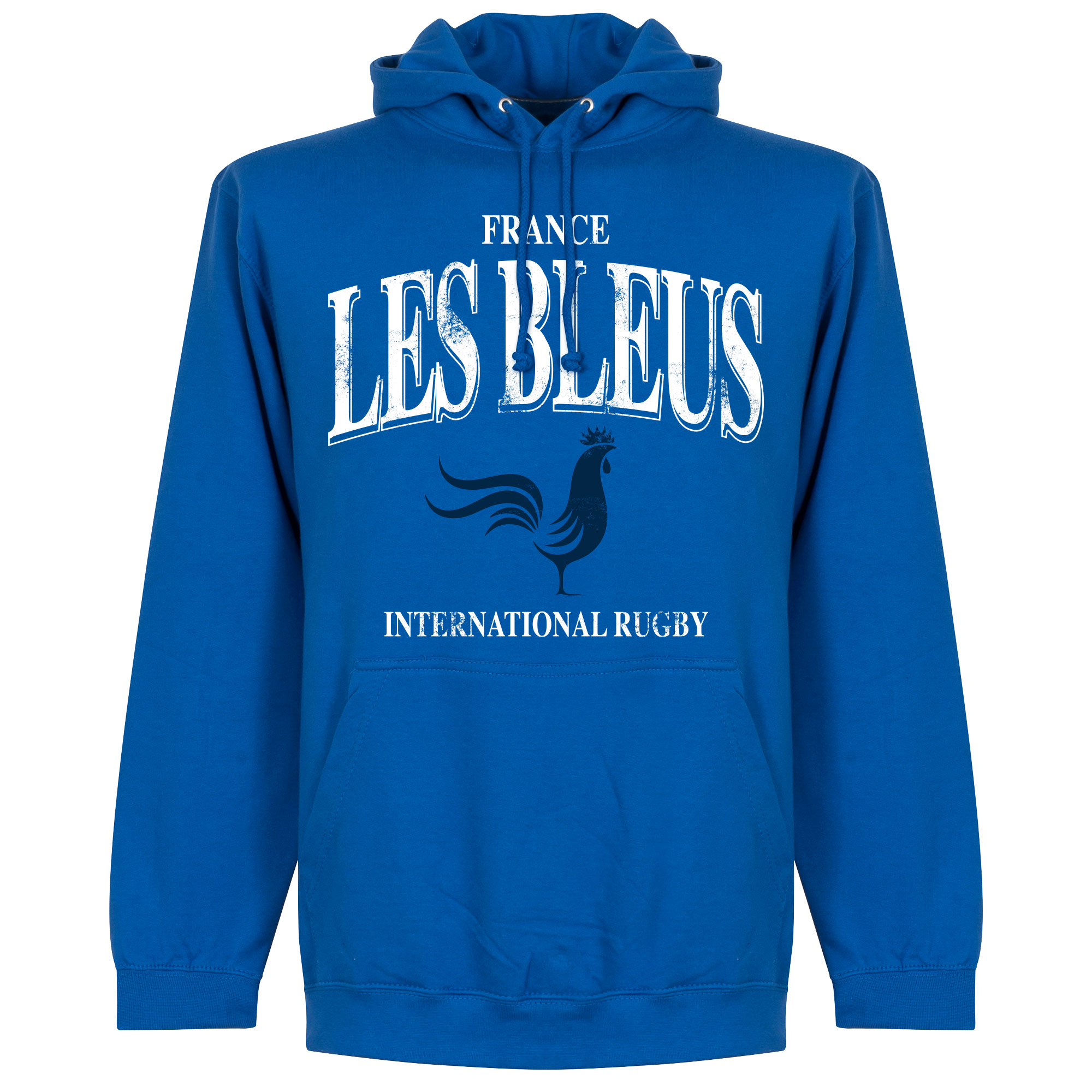 Frankrijk Les Bleus Rugby Hoodie - Blauw - Kinderen