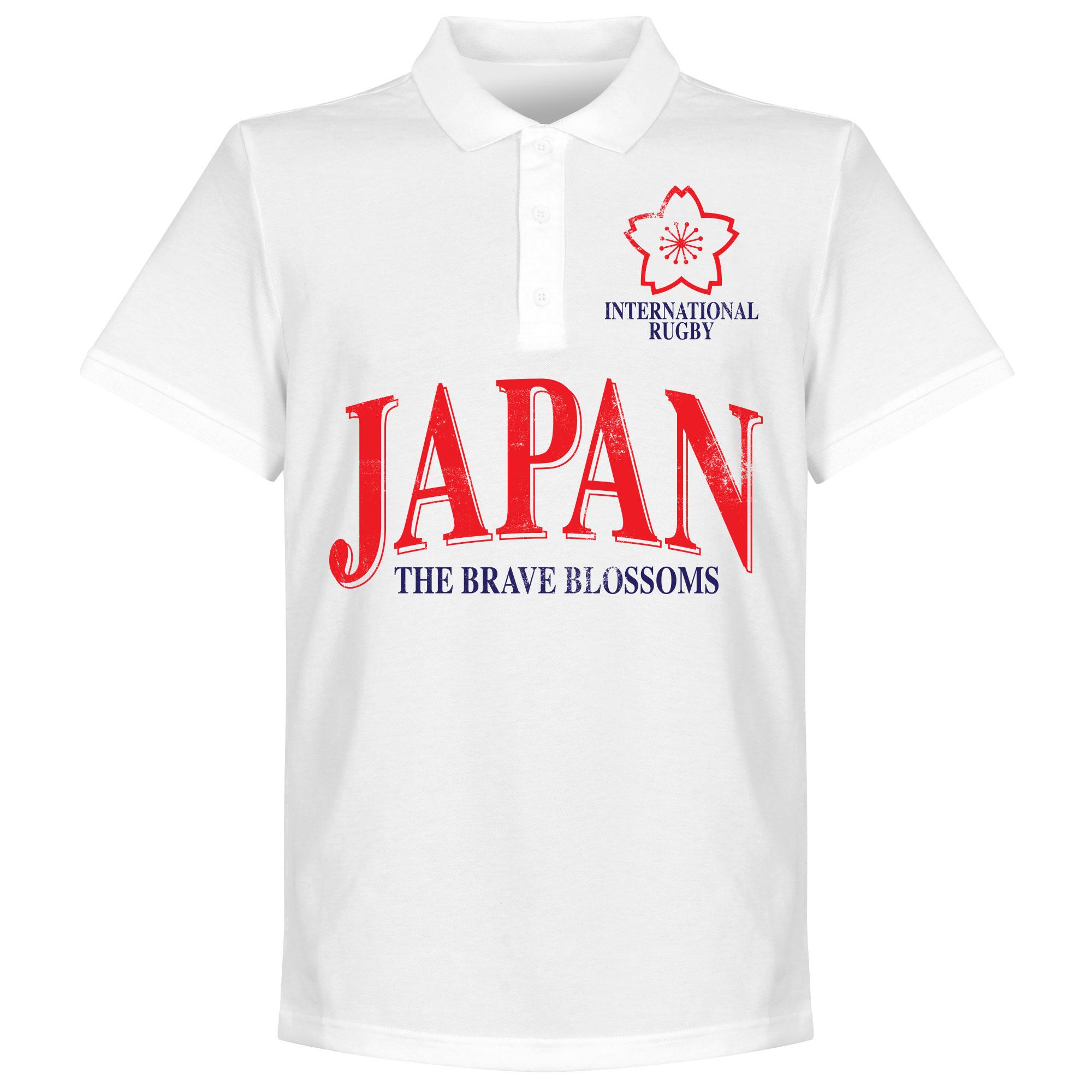 Japan Rugby Polo - Wit - XXXL