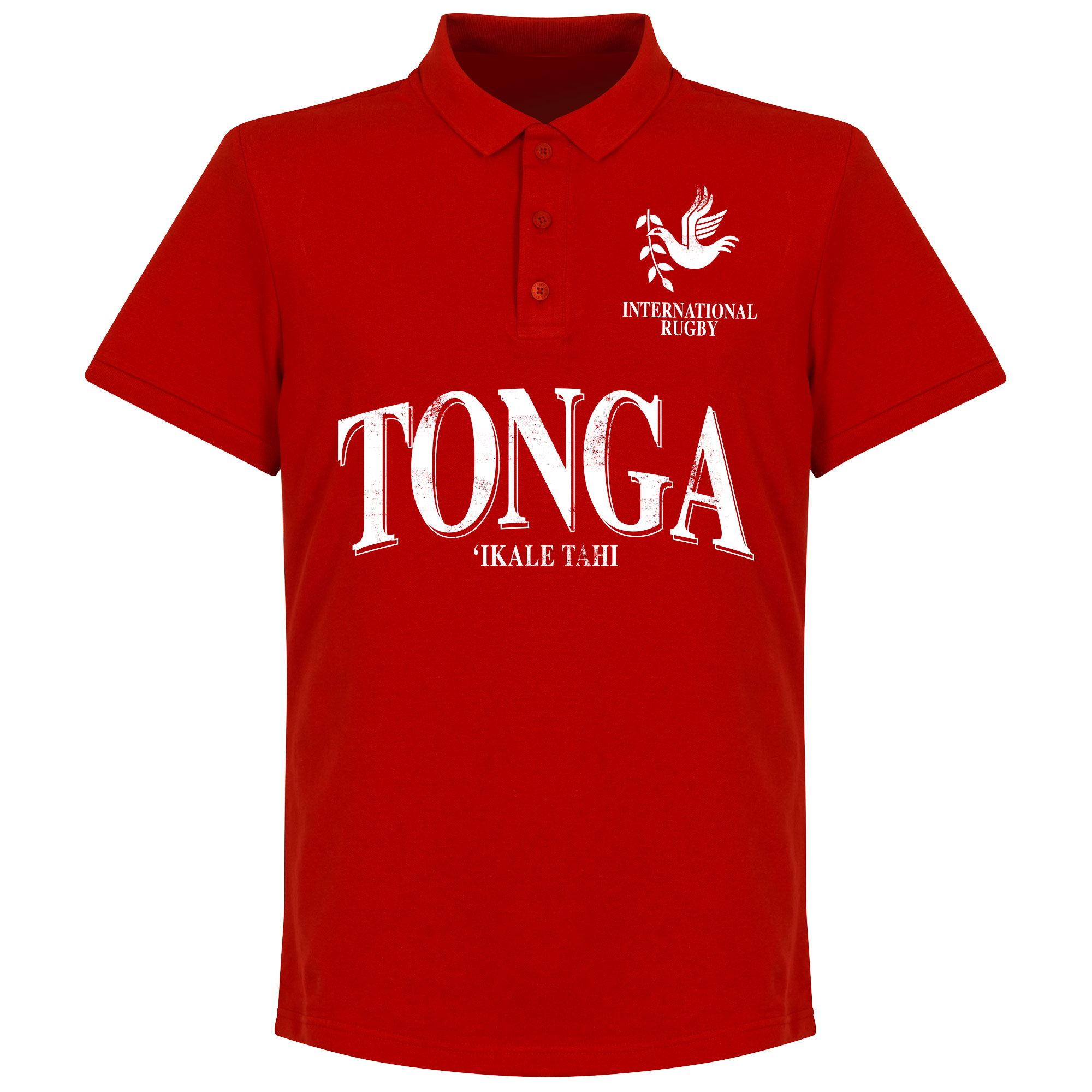 Tonga Rugby Polo - Rood - L