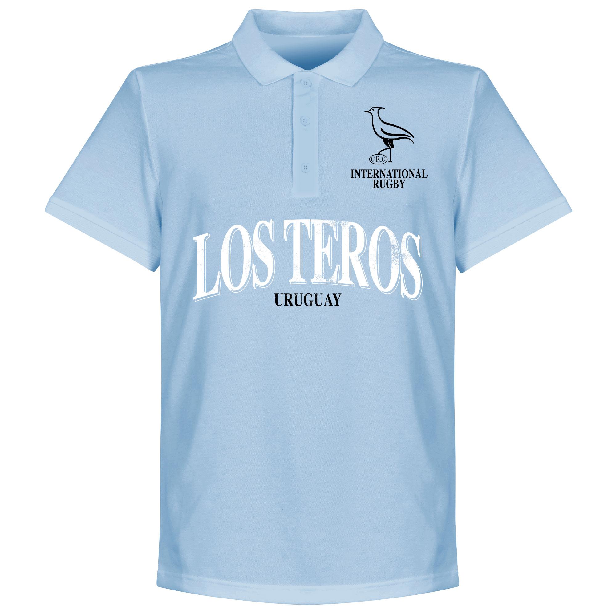 Uruguay Rugby Polo - Lichblauw