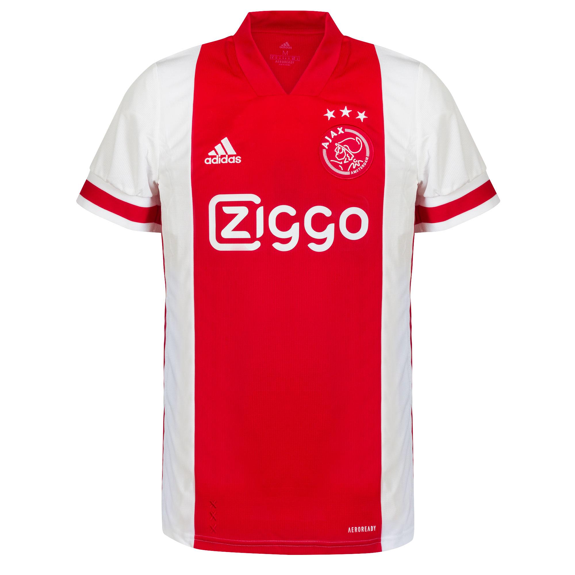 adidas Ajax Home Shirt 2020-2021