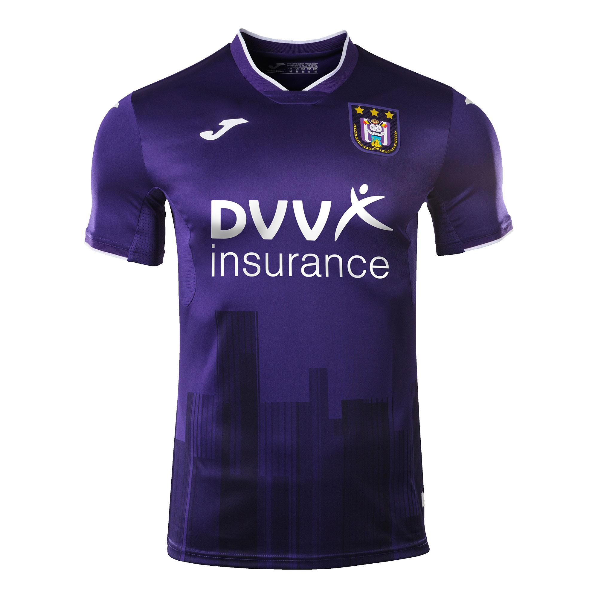 Joma Anderlecht Home Shirt 2020-2021