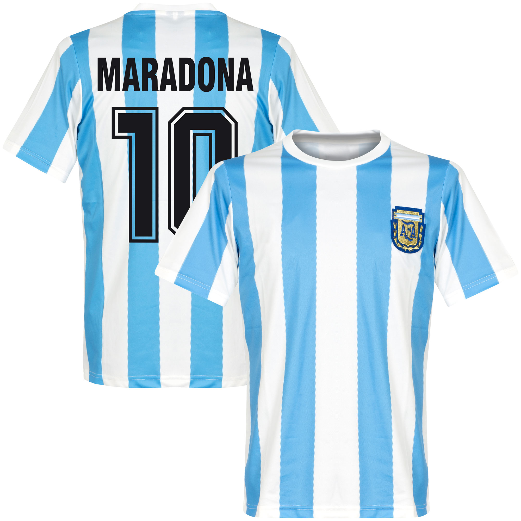 Buy Retro Replica Argentina old fashioned football shirts and ...