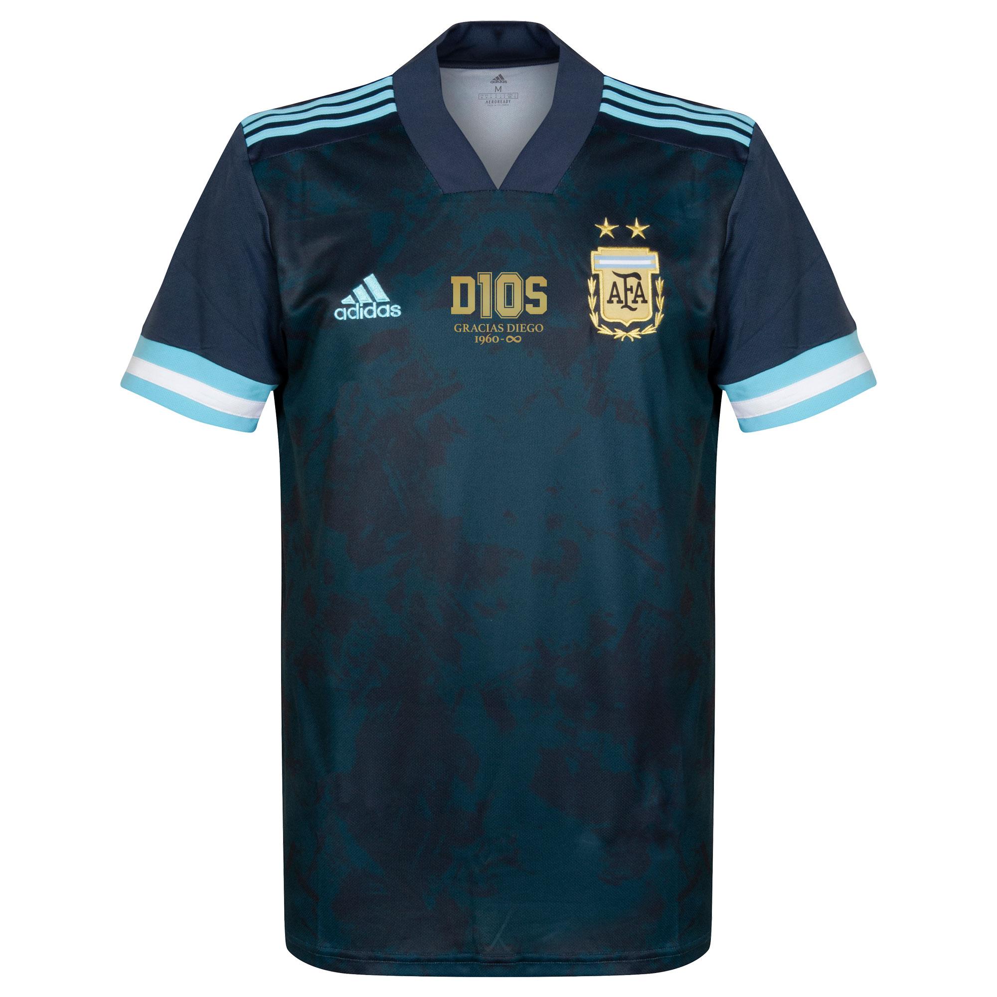 adidas Argentina Away Shirt 2020-2021 inc. FREE D10S Transfer