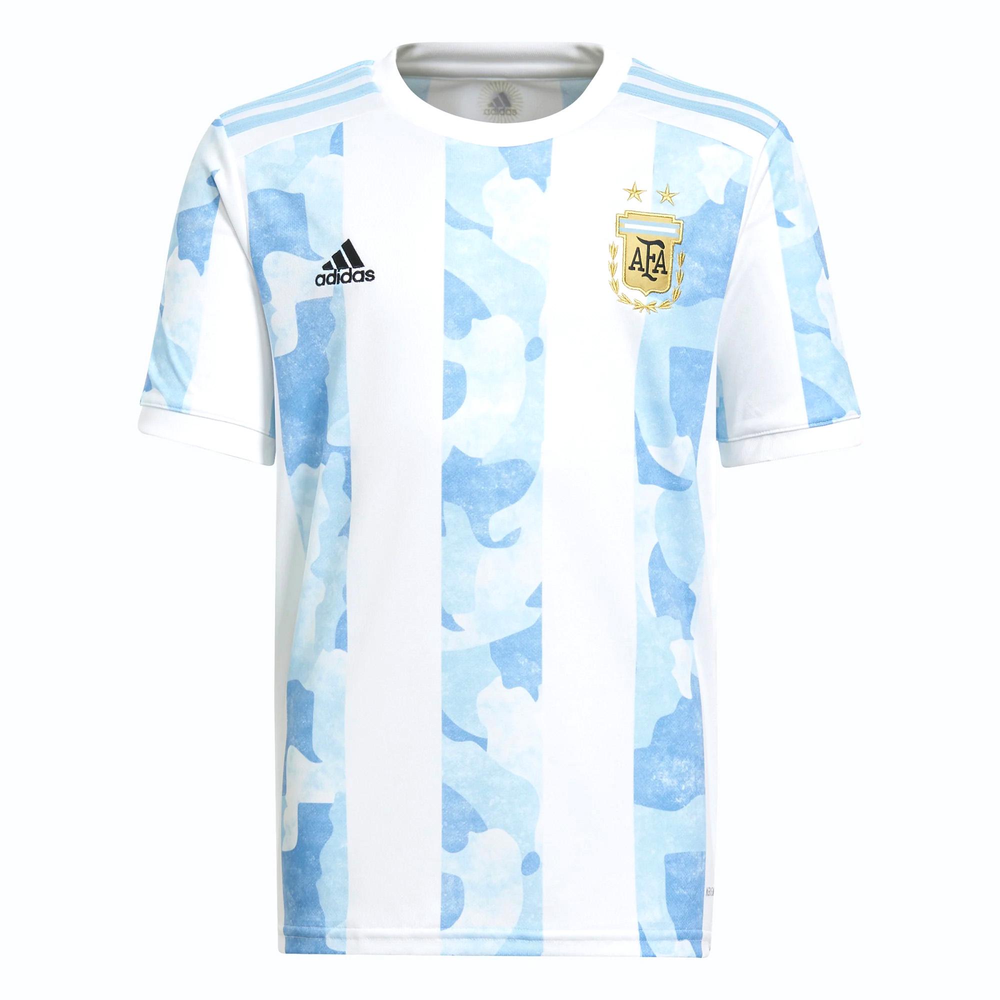 adidas Argentina Home KIDS Shirt 2021