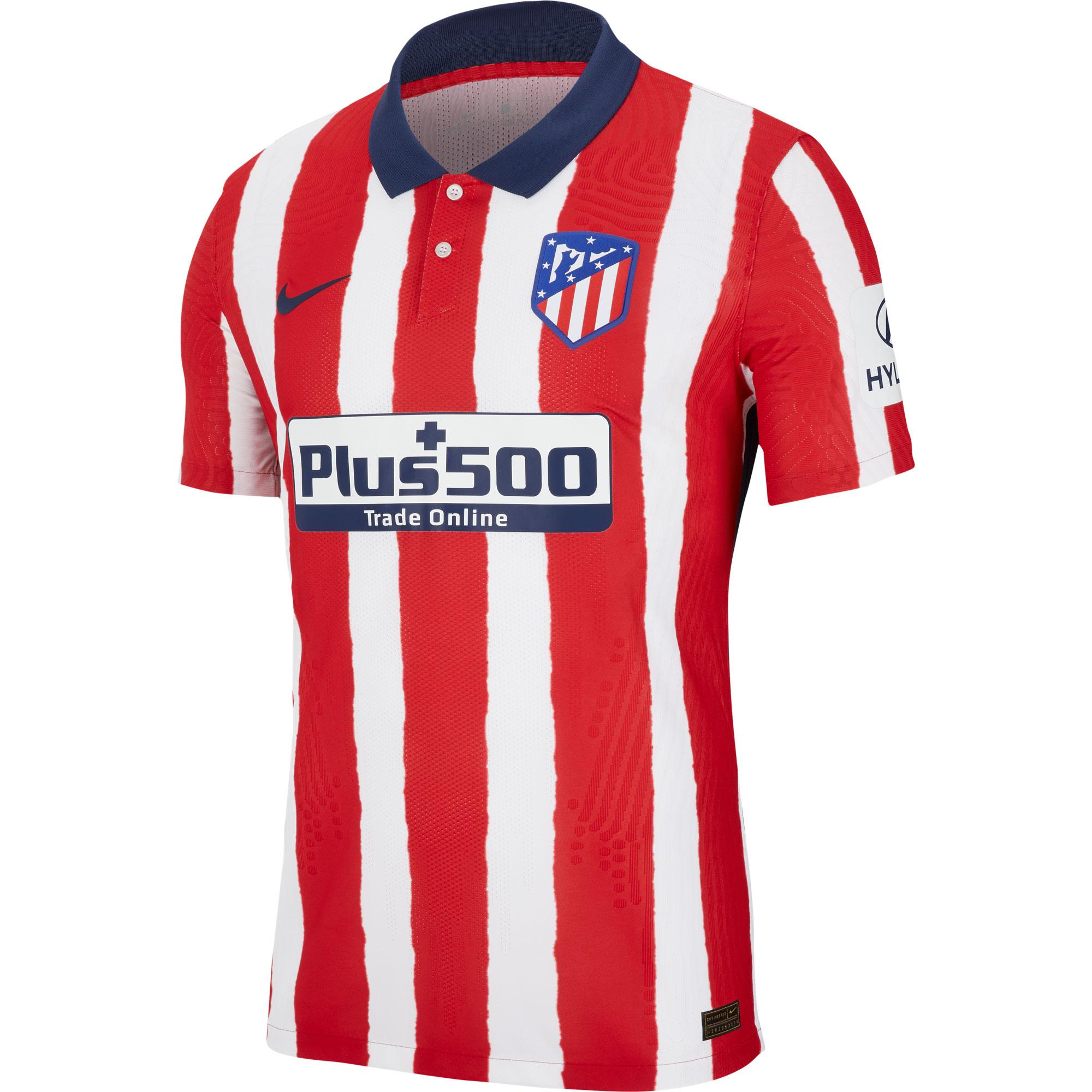 Atletico Madrid Shirt Thuis 2020-2021
