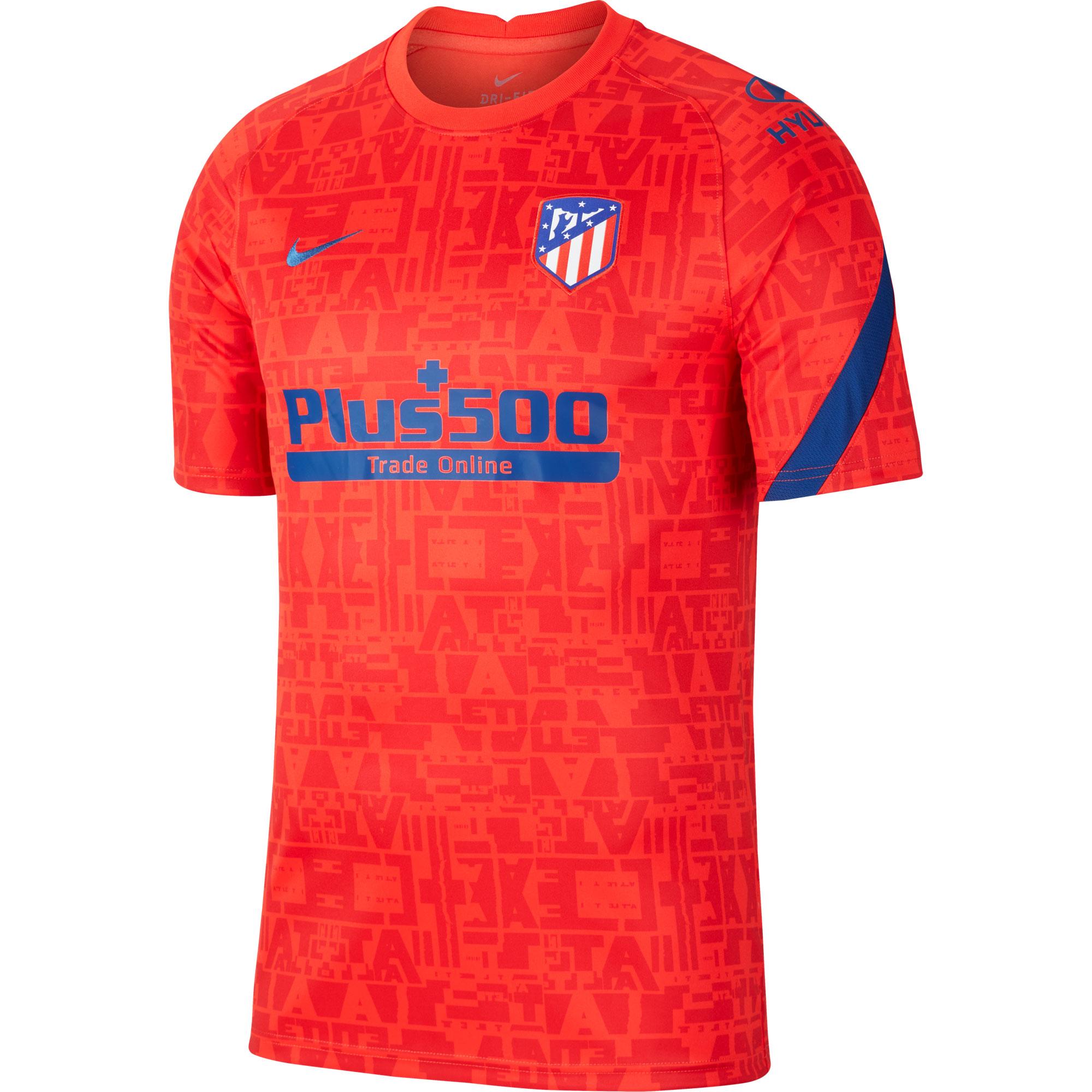 Atletico Madrid Breath Warming Up Shirt 2020-2021 - Rood