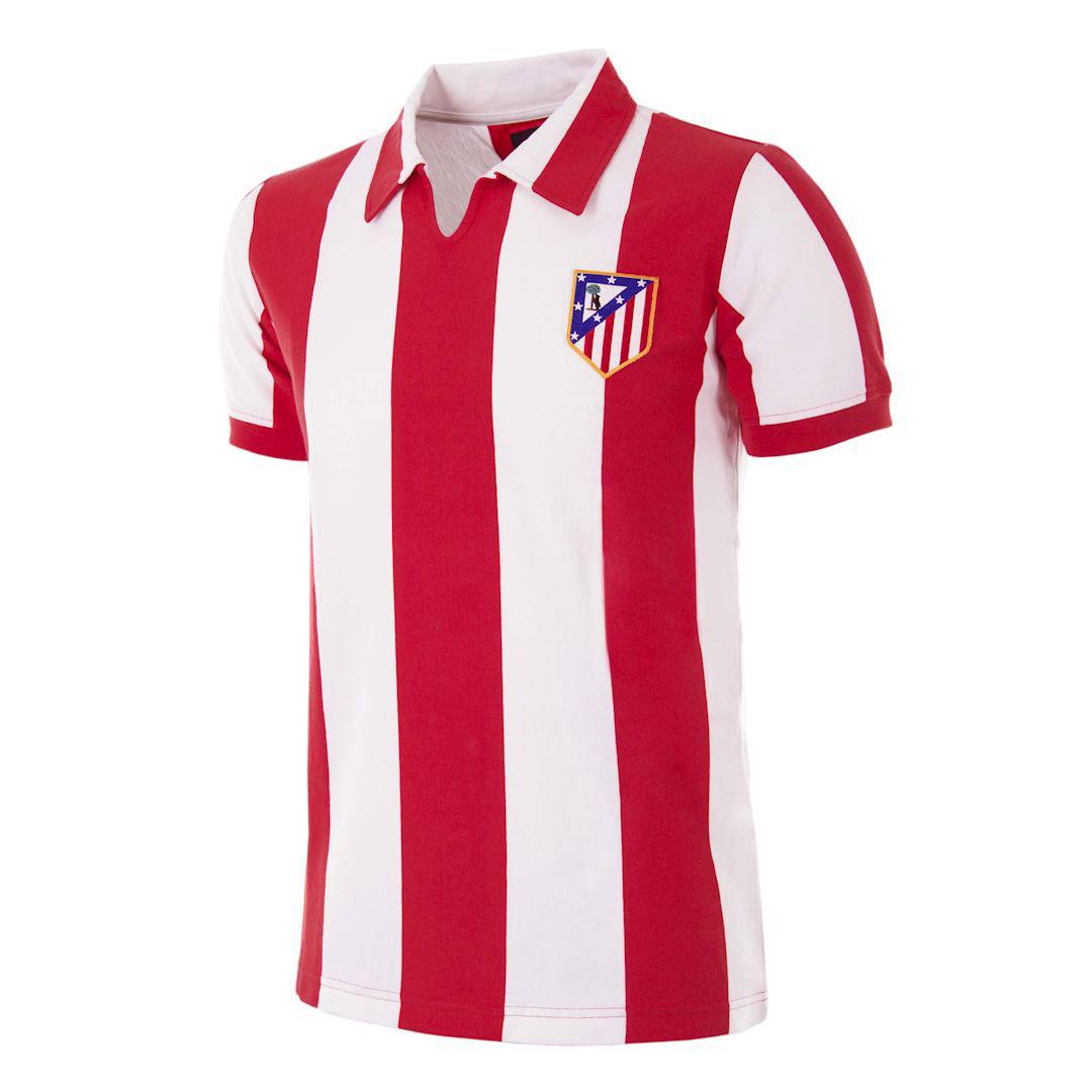Copa Atletico Madrid Home Retro Shirt 1970-1971
