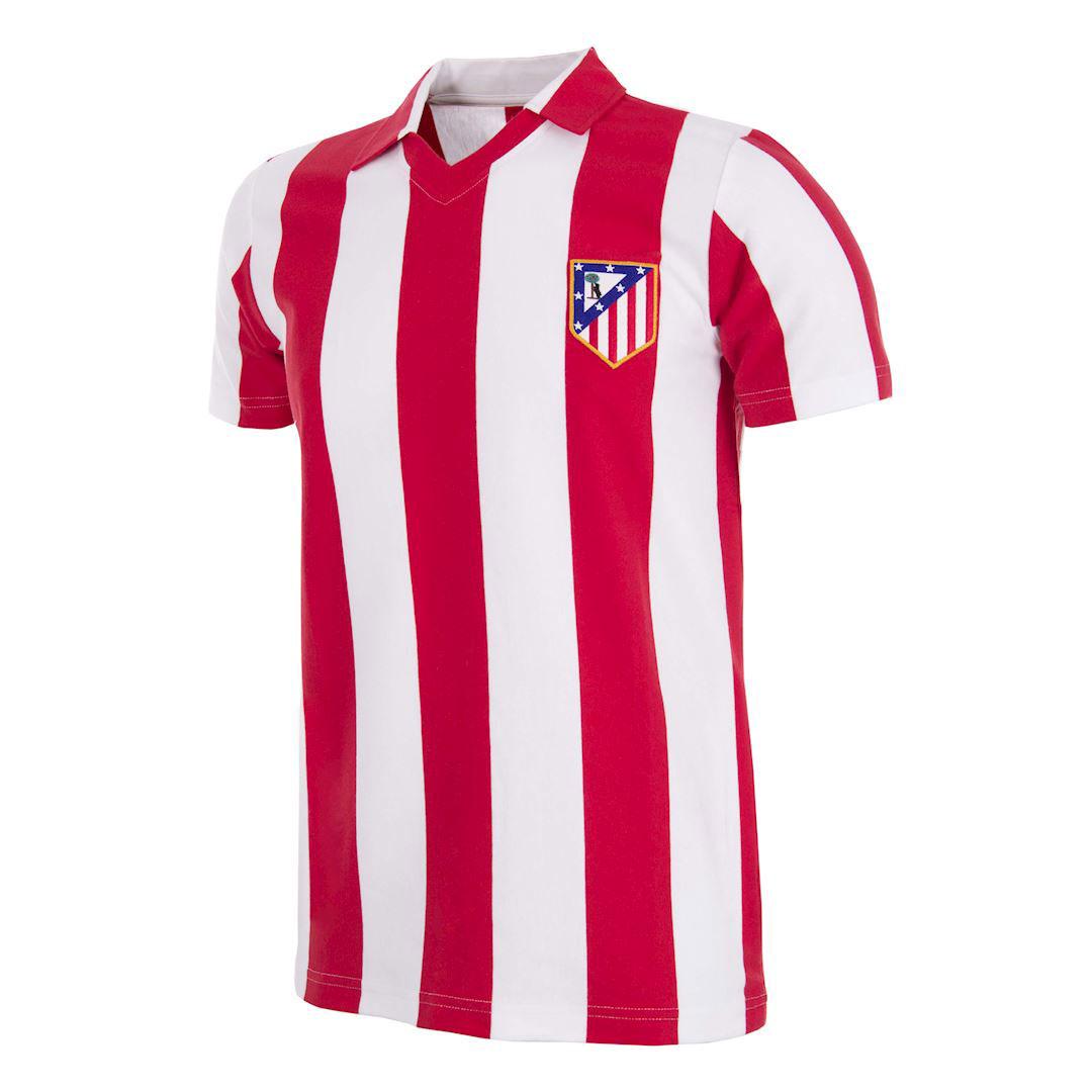 Copa Atletico Madrid Home Retro Shirt 1985-1986