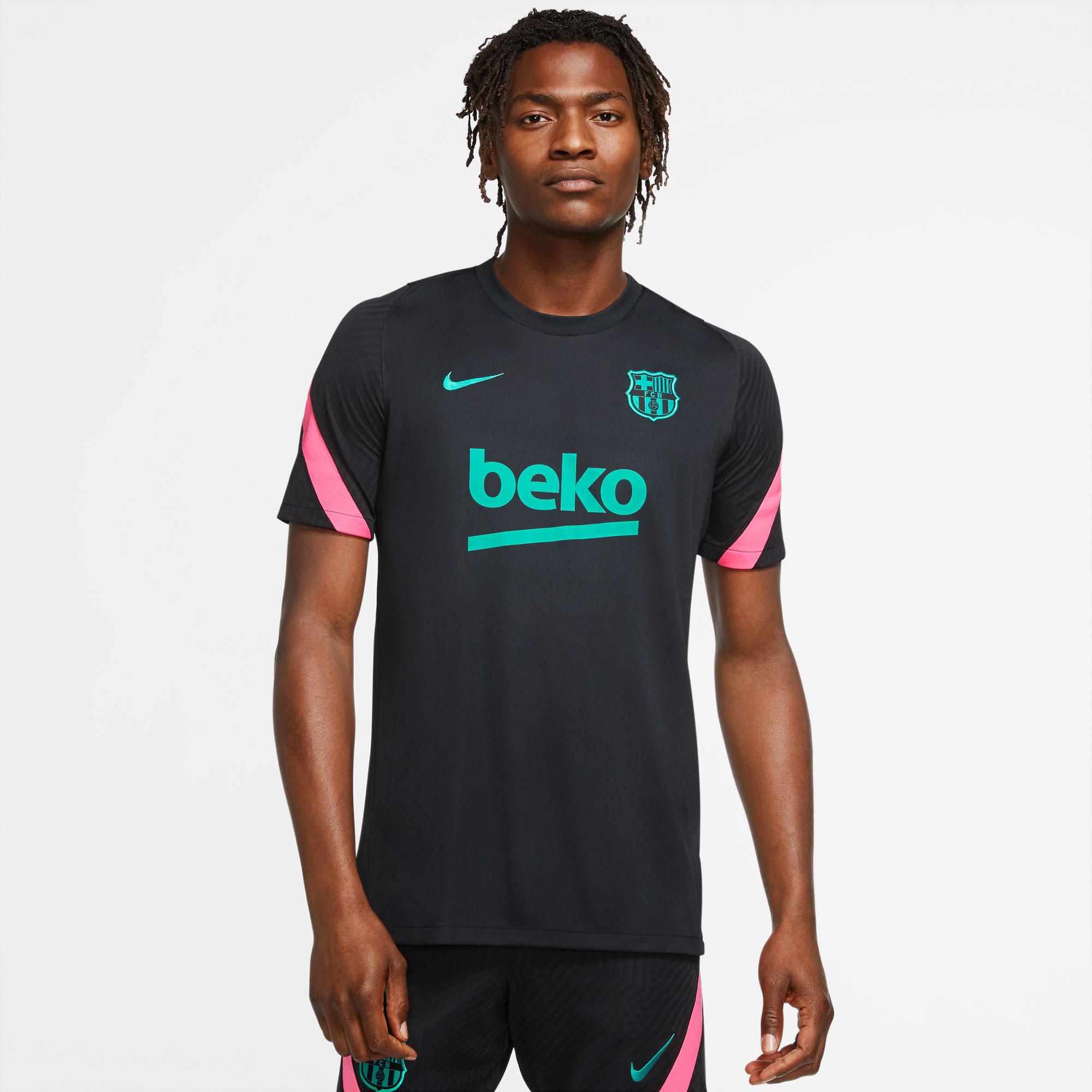 Barcelona UCL Trainingsshirt 2020-2021 - Zwart
