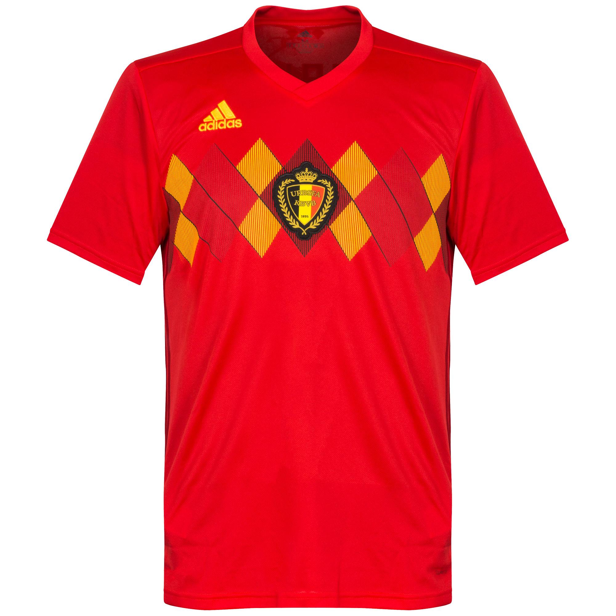 Belgium Home Shirt 2018 2019