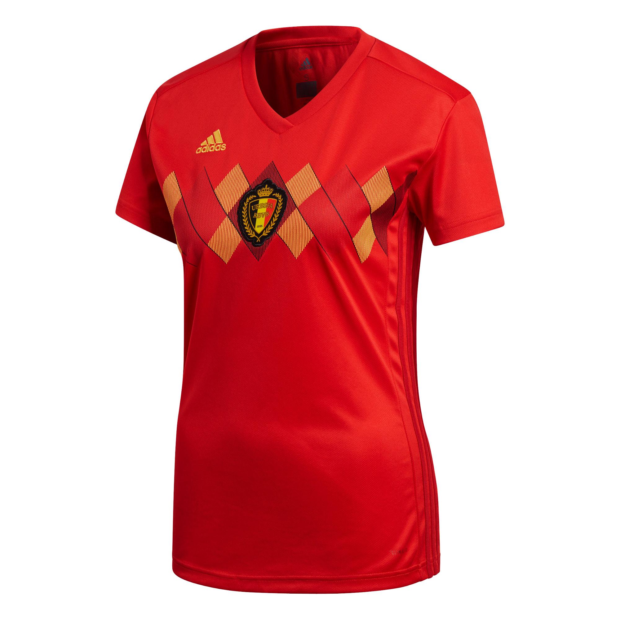 Belgium Home Womens Shirt 2018 2019