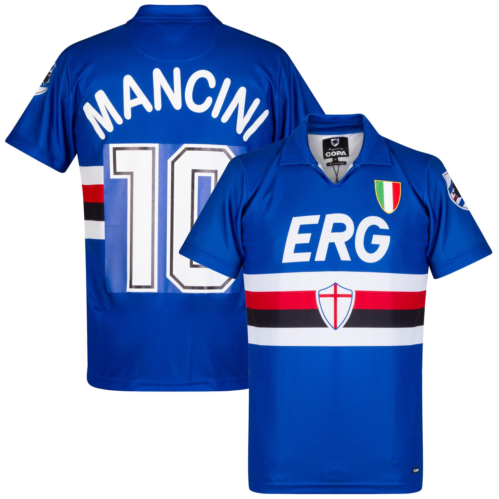 Sampdoria Retro home Camiseta