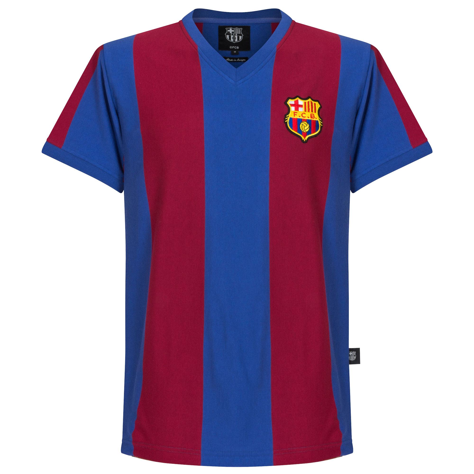 Barcelona Retrô home camisa