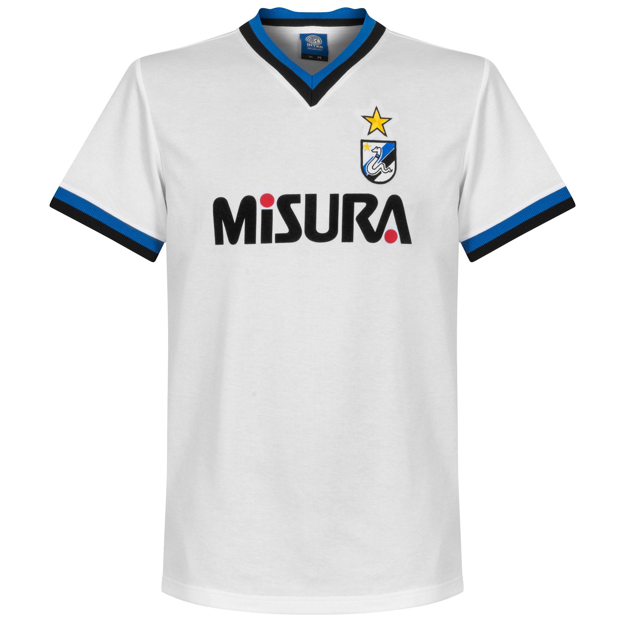 Copa F.C. Internazionale Away Retro Shirt 1986-1987