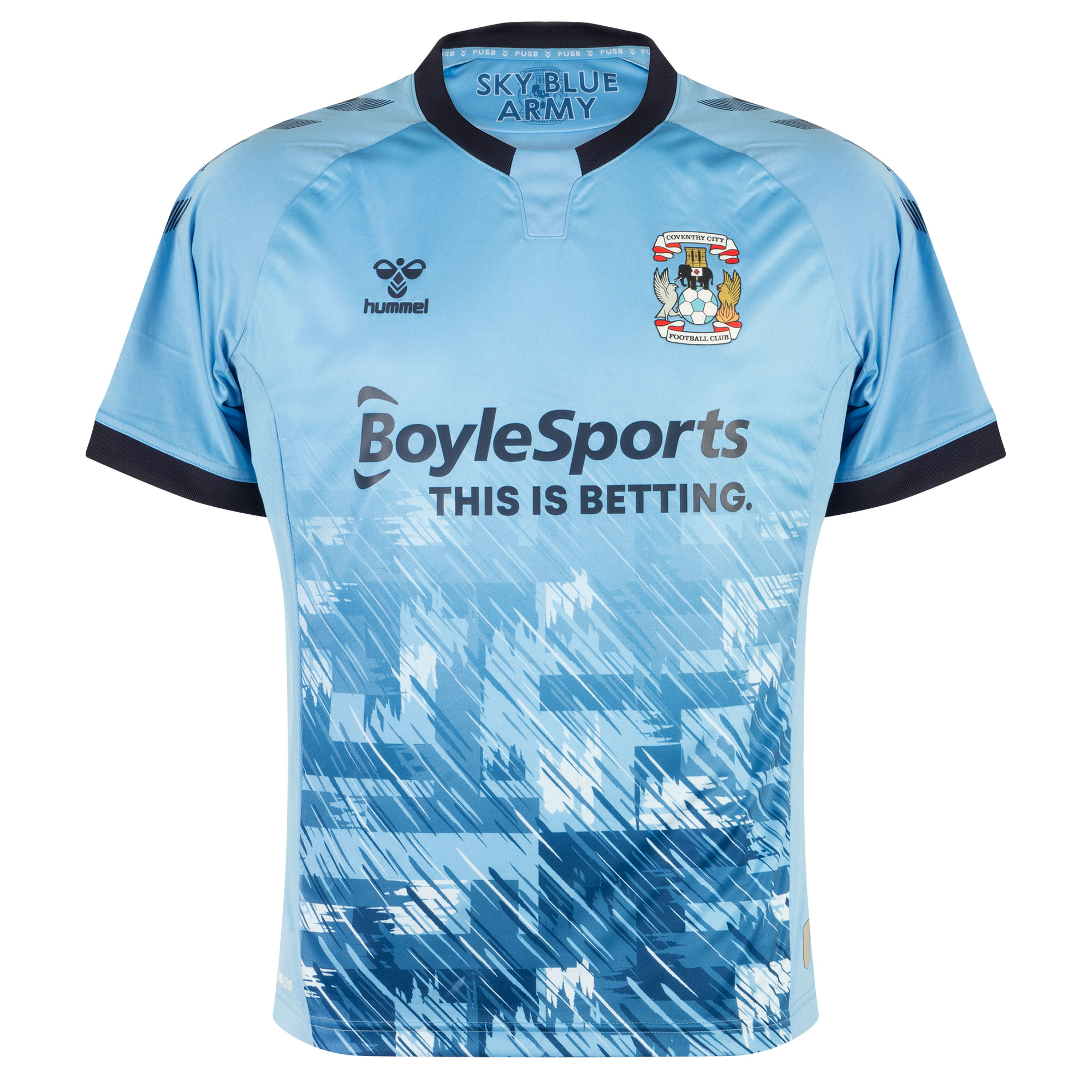 Coventry City home shirt