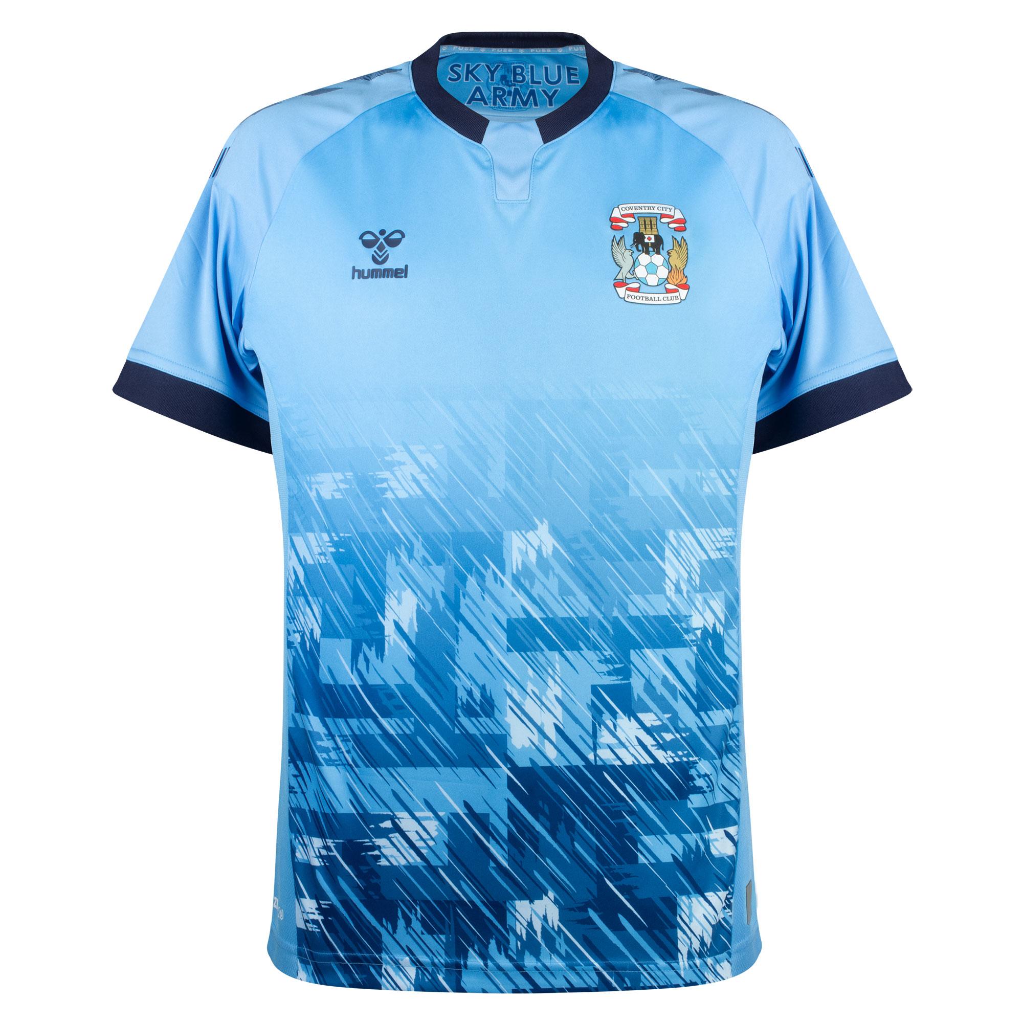 Hummel Coventry City Home Shirt (No Sponsor) 2021-2022