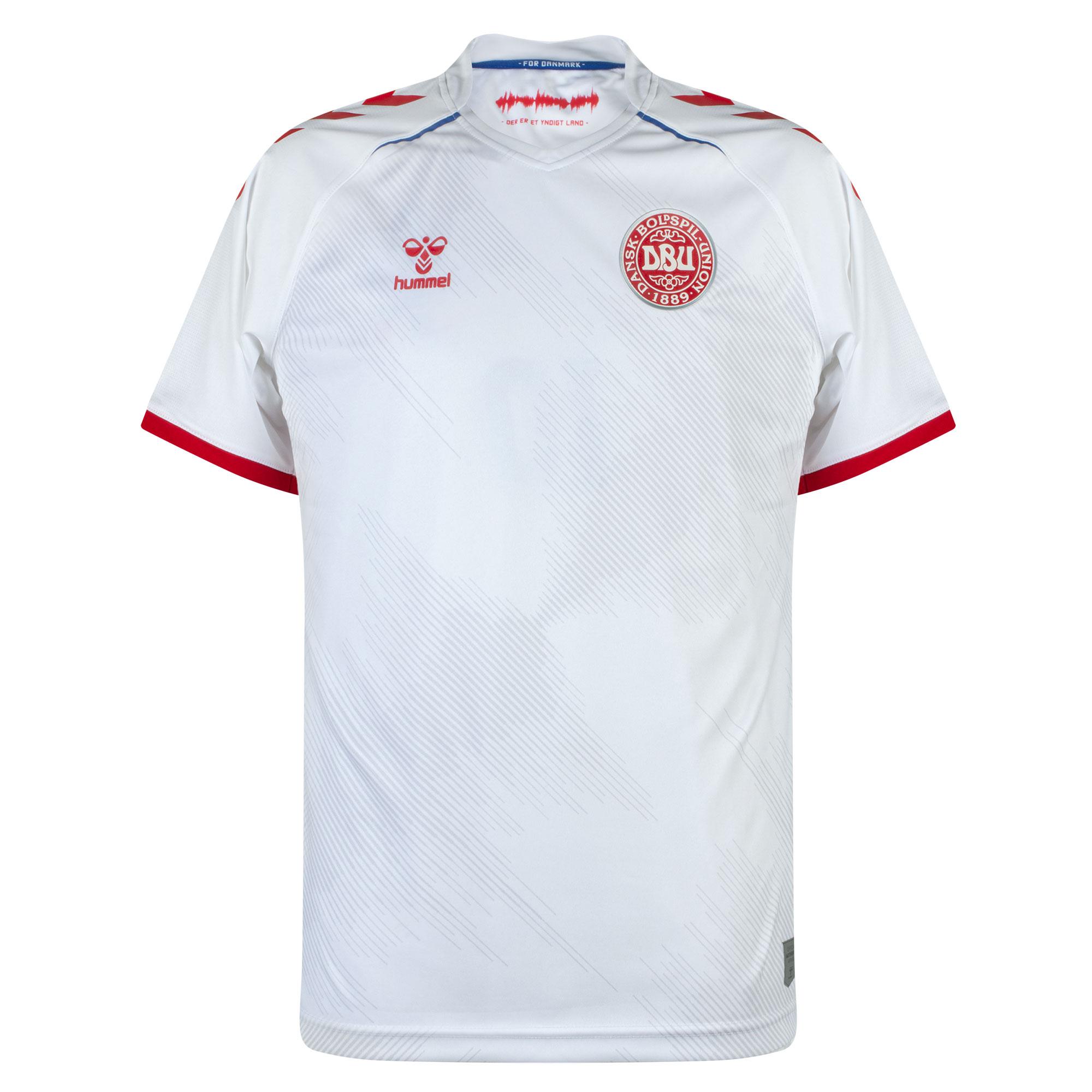 Hummel Denmark Away Shirt 2021-2022