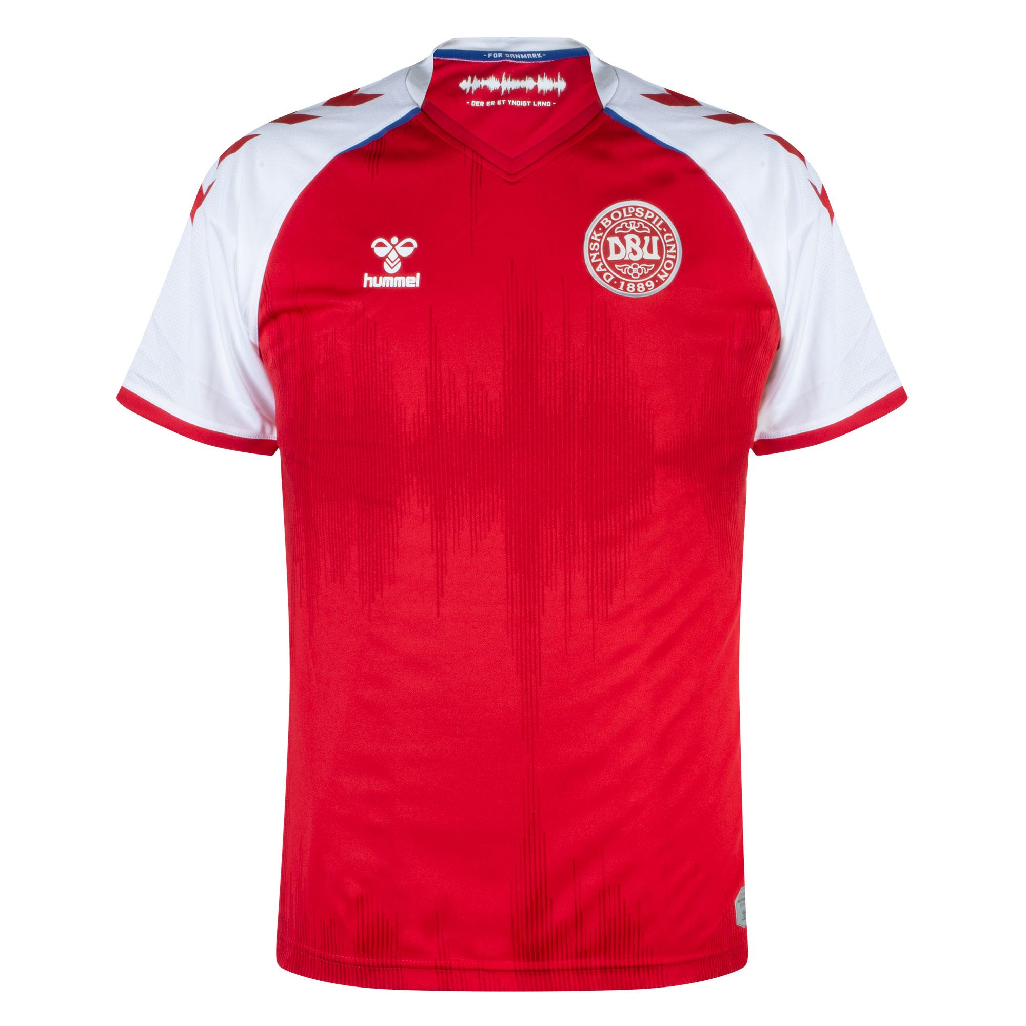 Hummel Denmark Home Shirt 2021-2022