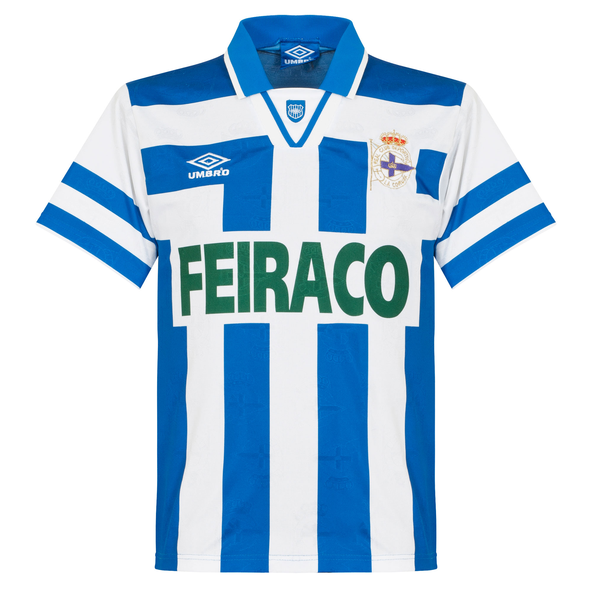 Umbro Deportivo La Coruna 1992-1994 Home Shirt - USED Condition (Excellent)