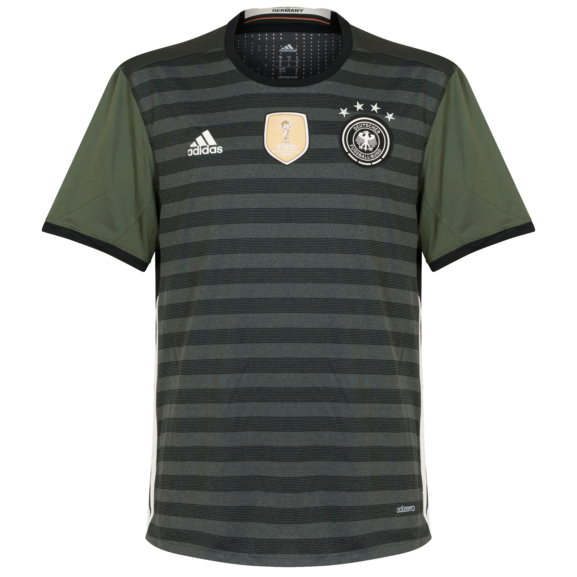 Germany Away Authentic Shirt 2016 2017