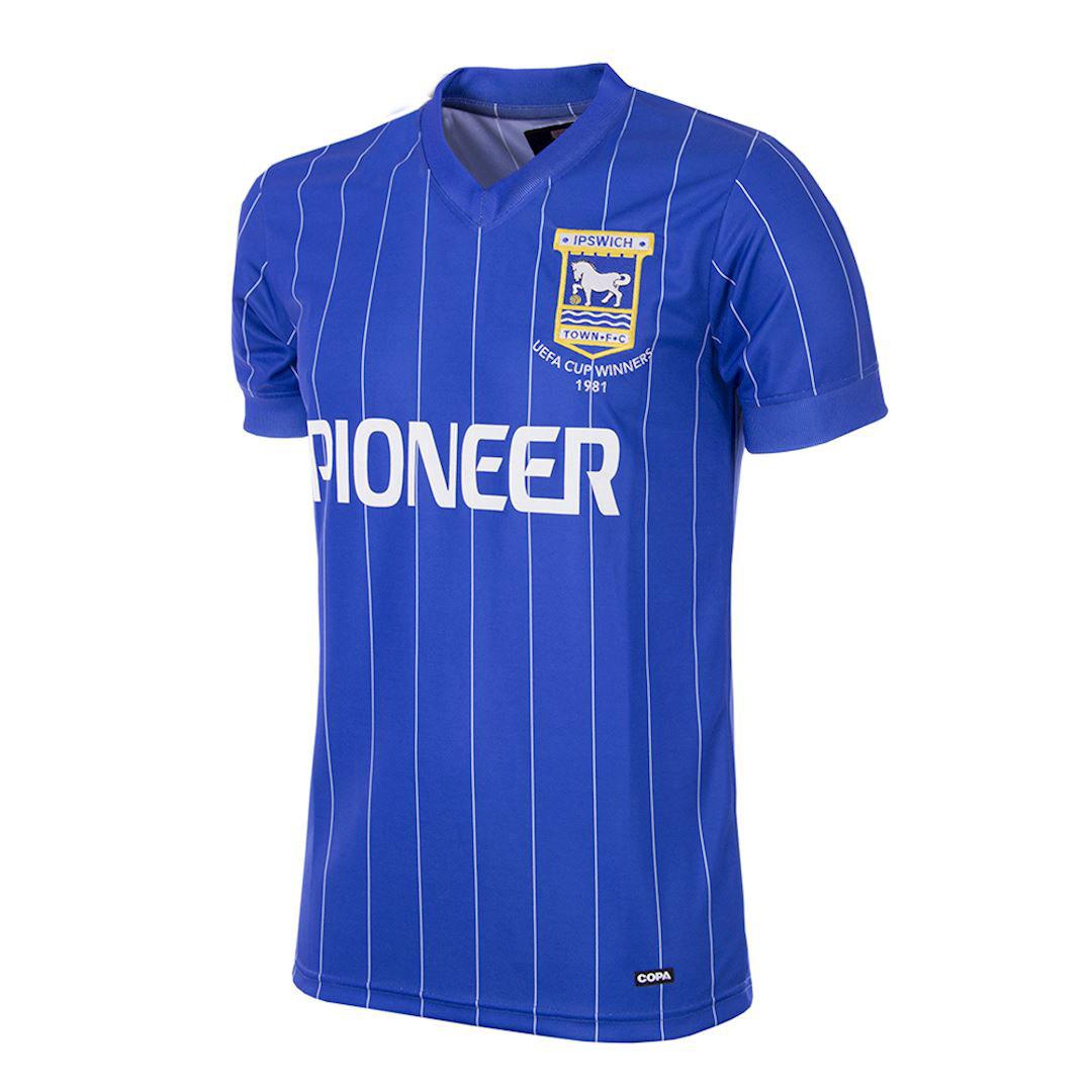 Ipswich Town Retro home shirt