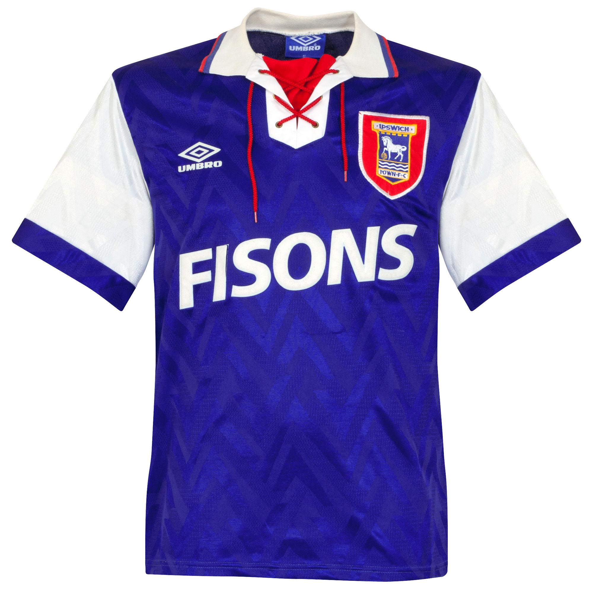 Retro Ipswich Town Shirt