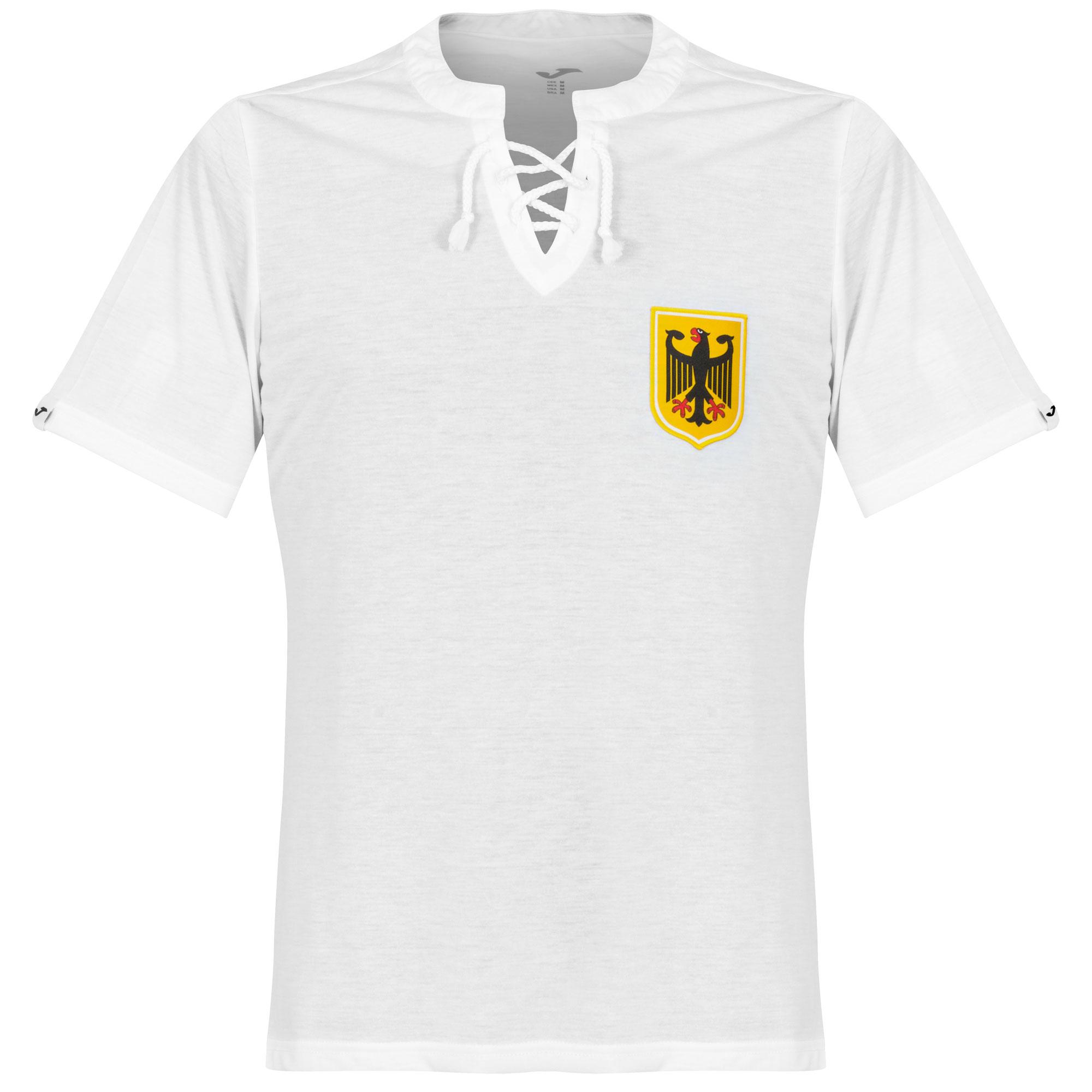 Germany 1950s Retro Shirt - White