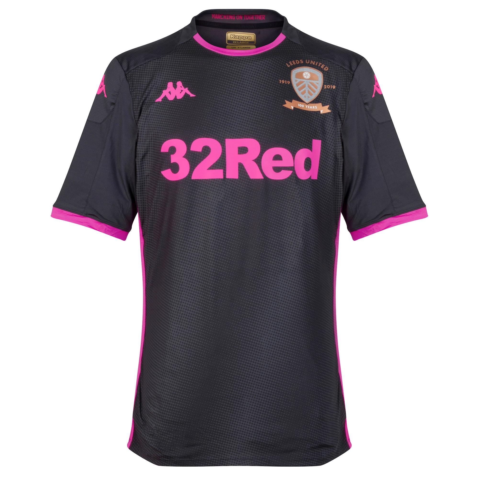 Kappa Leeds Utd Away Pro Shirt 2019-2020 (Slim Fit)