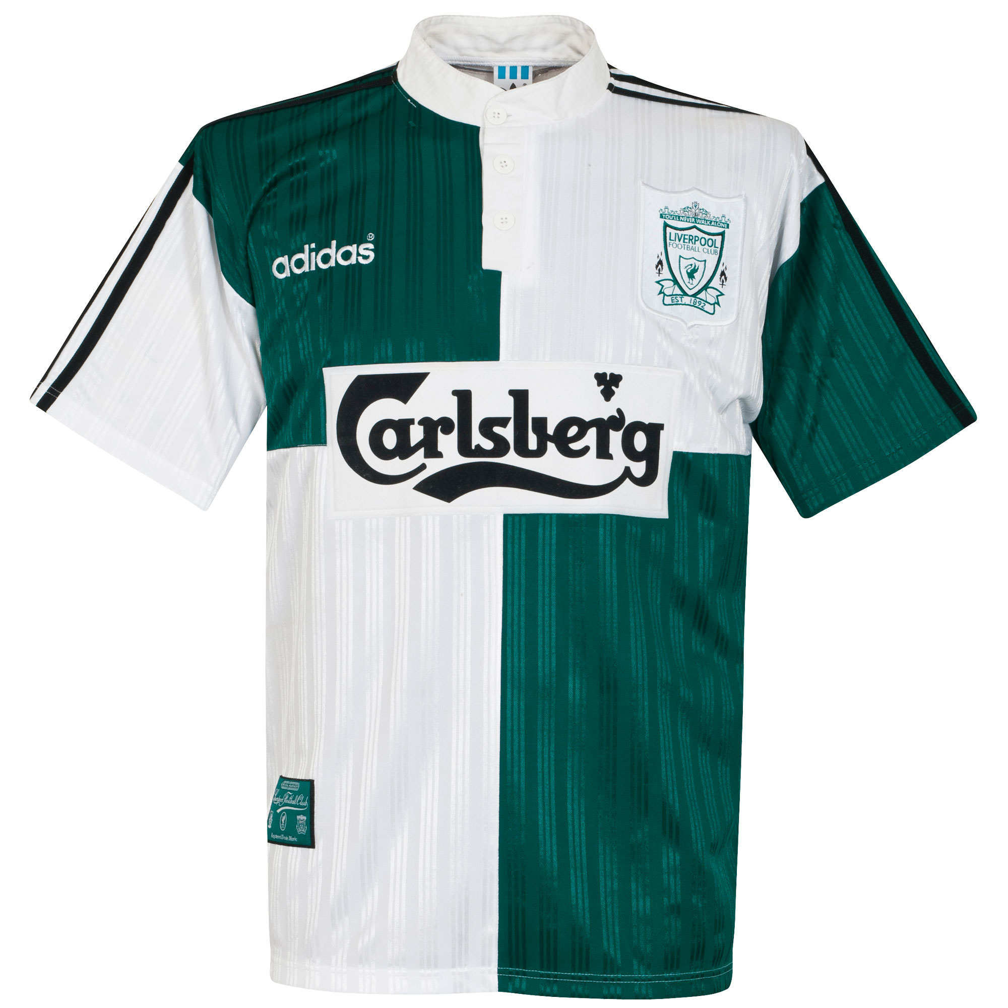 adidas Liverpool 1995-1996 Away Shirt - USED Condition (Great) - Size X