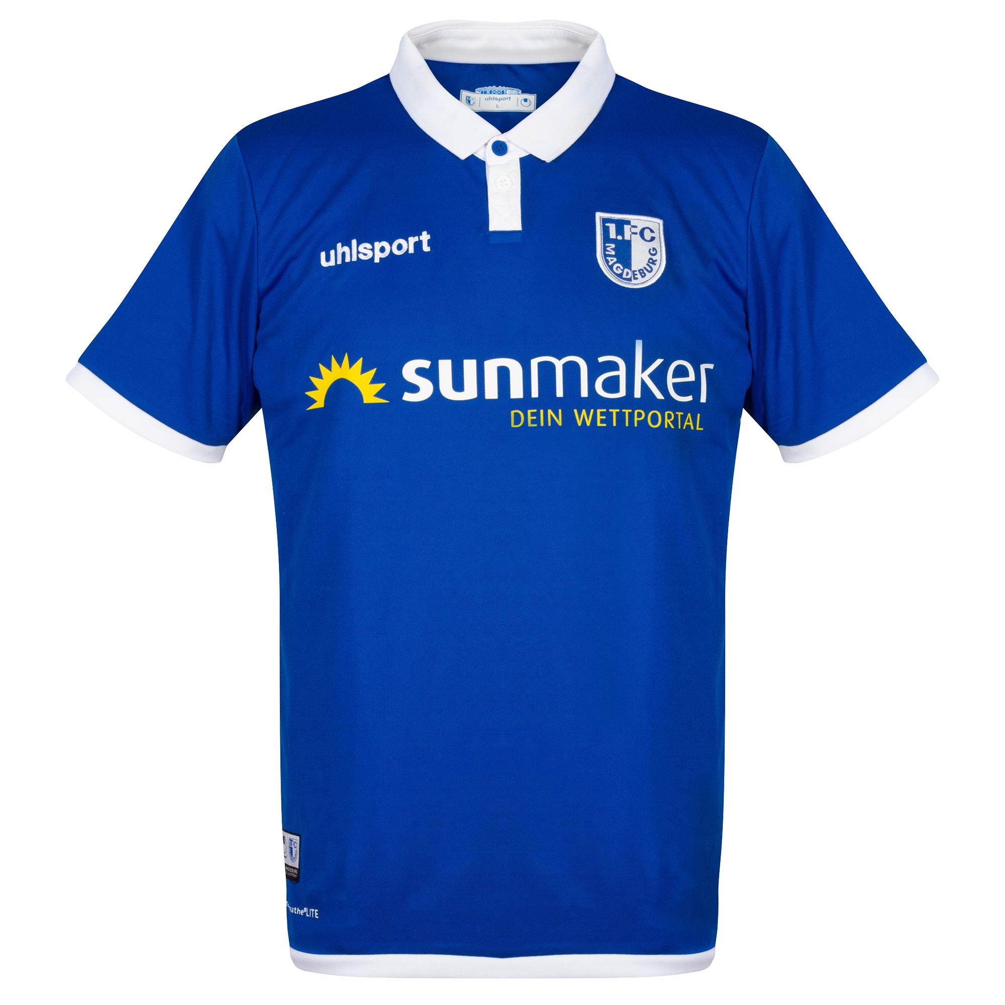 1. FC Magdeburg home shirt