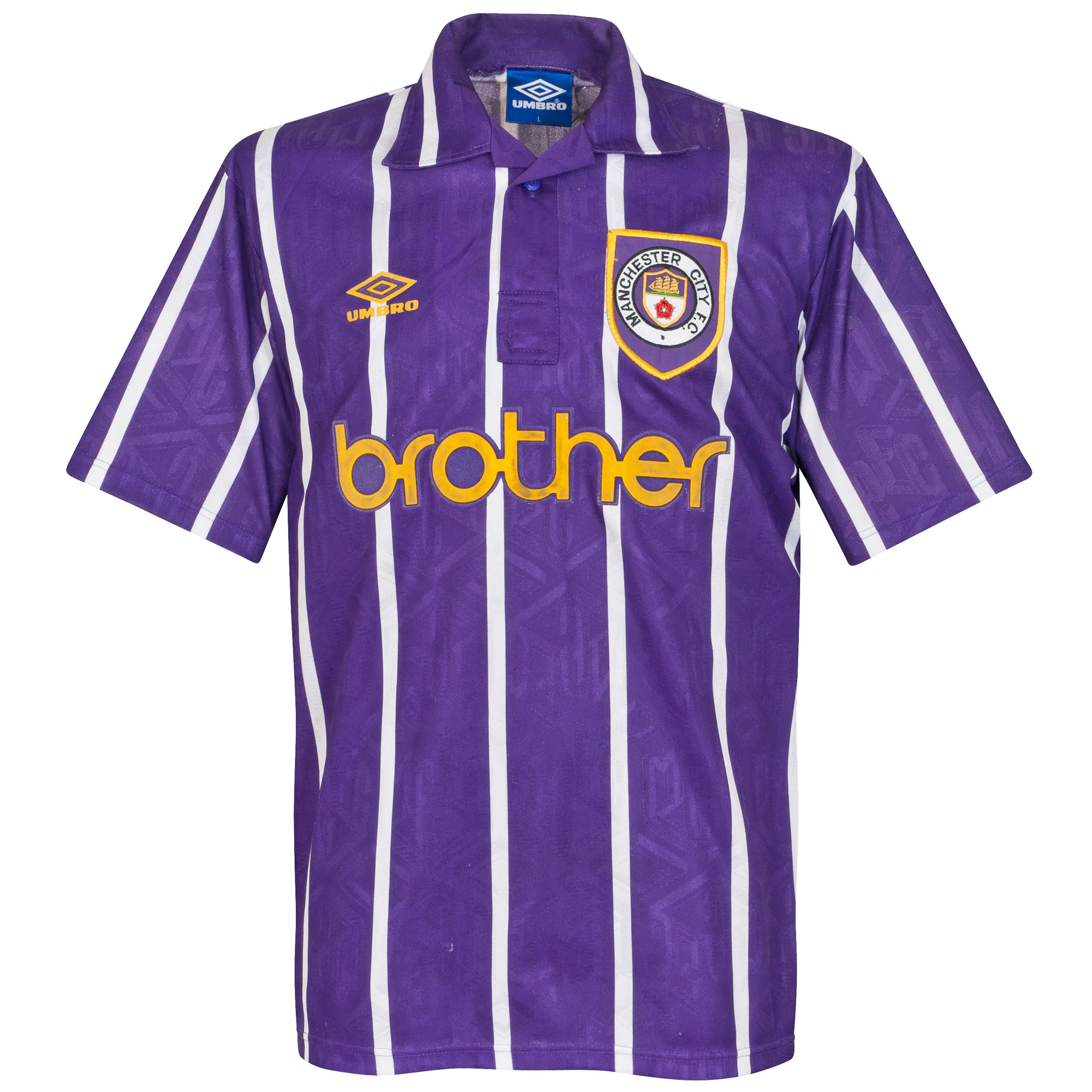 Umbro Manchester City 1993-1994 Away Shirt - USED Condition (Great) - Size