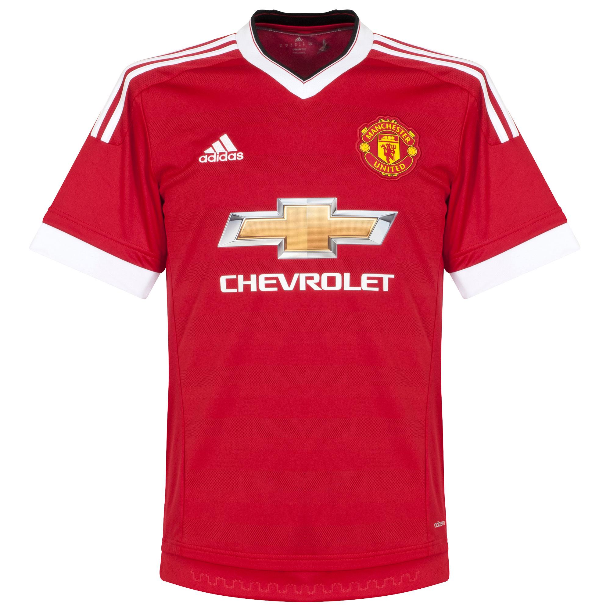 Man Utd Home Authentic Adi Zero Shirt 2015 2016