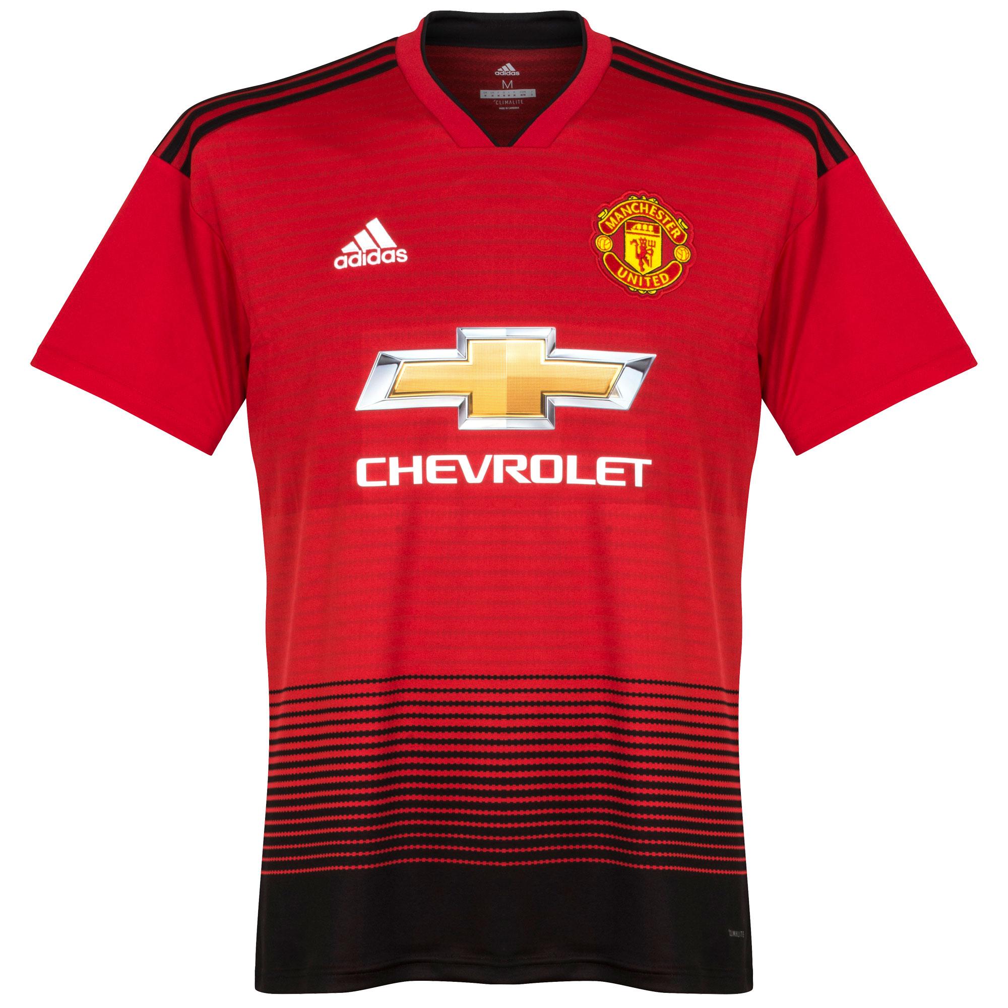 Man Utd Home Shirt 2018 2019