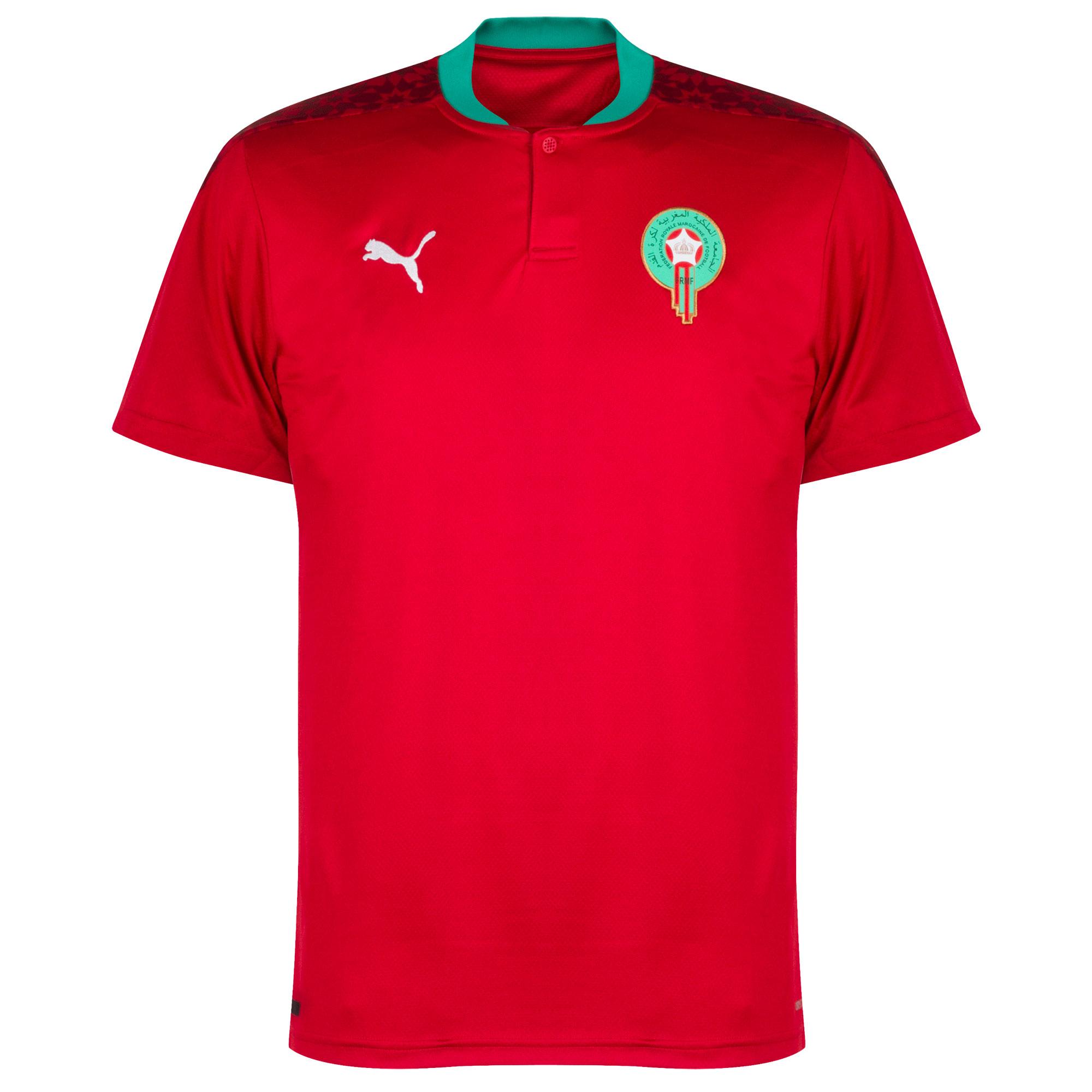 Morocco home shirt