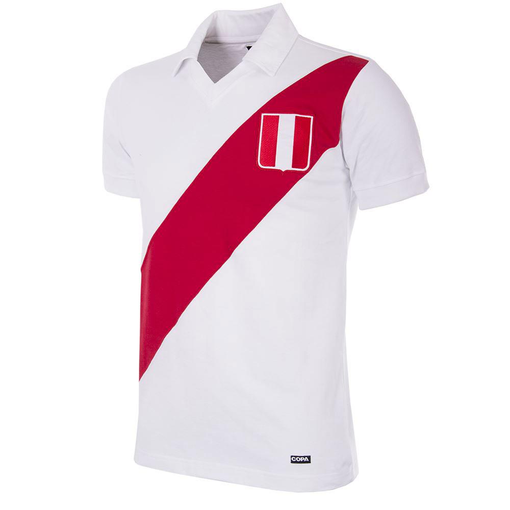 Copa Peru Home Retro Shirt 1970's
