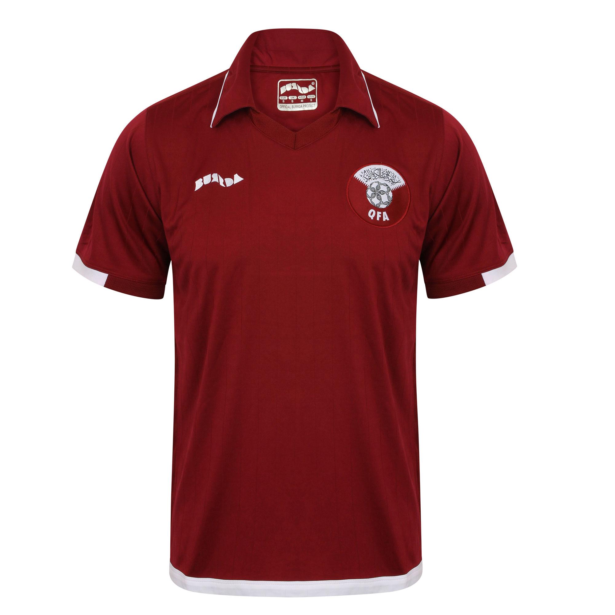 Qatar Retro home shirt