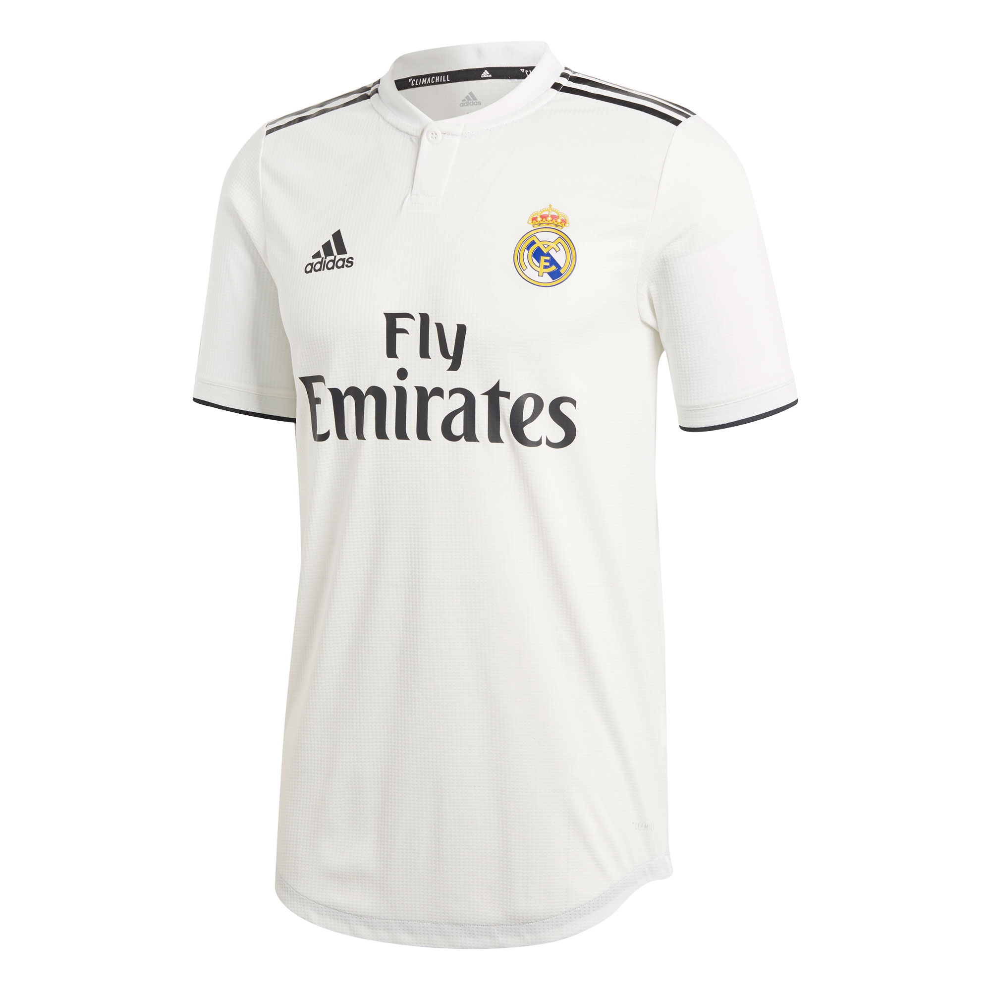 Real Madrid Home Authentic Shirt 2018 2019