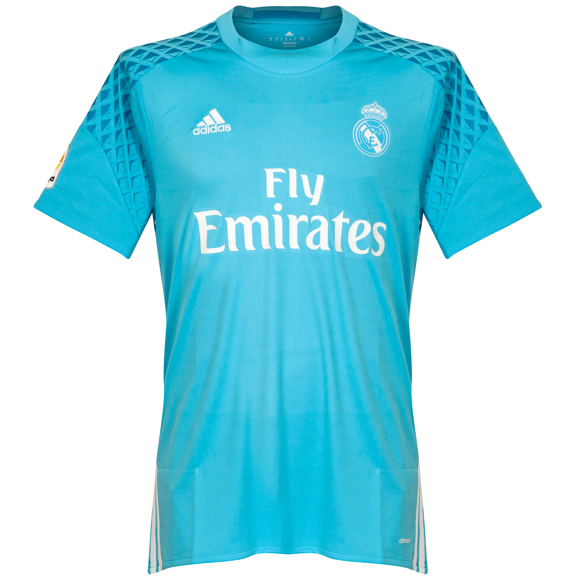 adidas Real Madrid Home GK Shirt 2016-2017