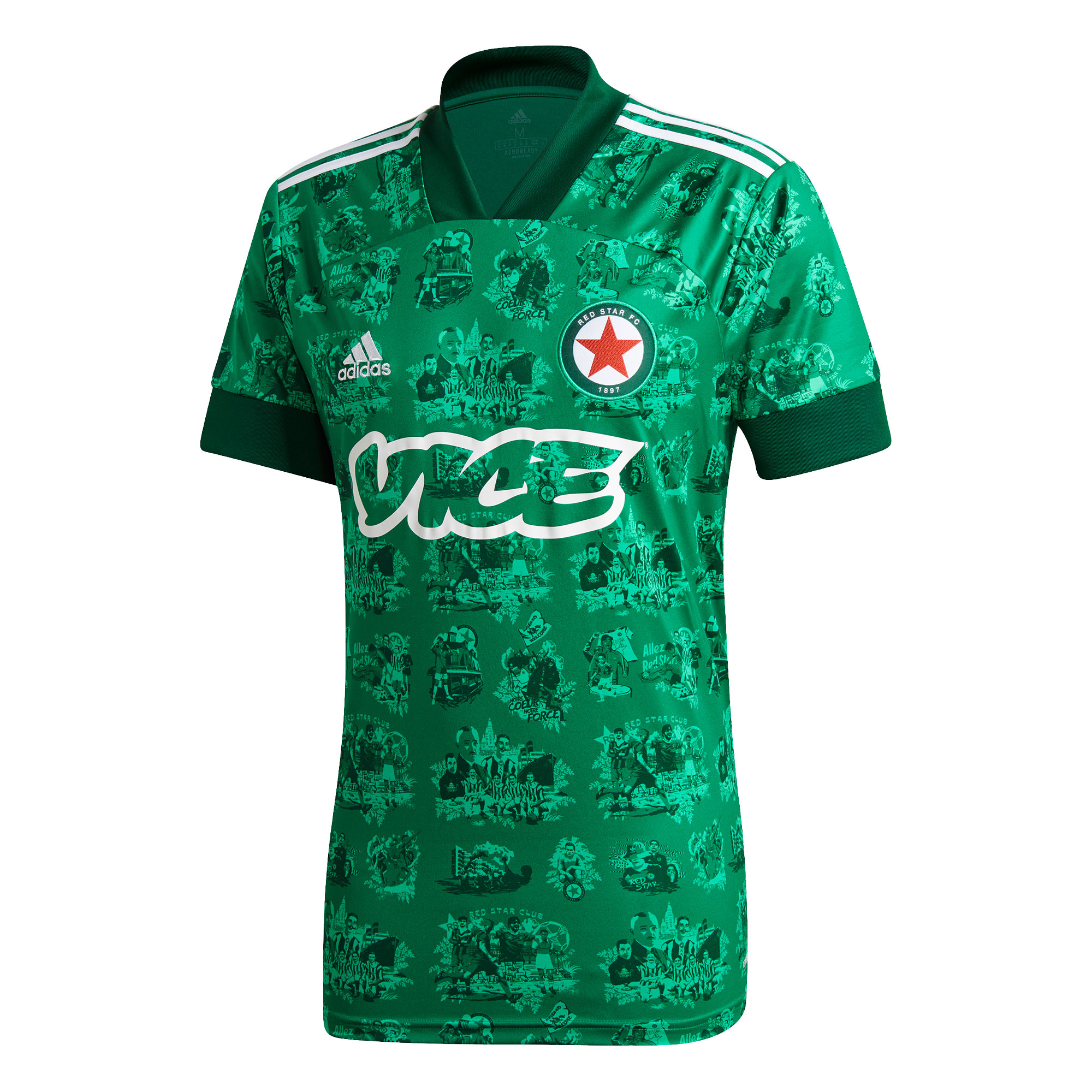 Red Star home shirt