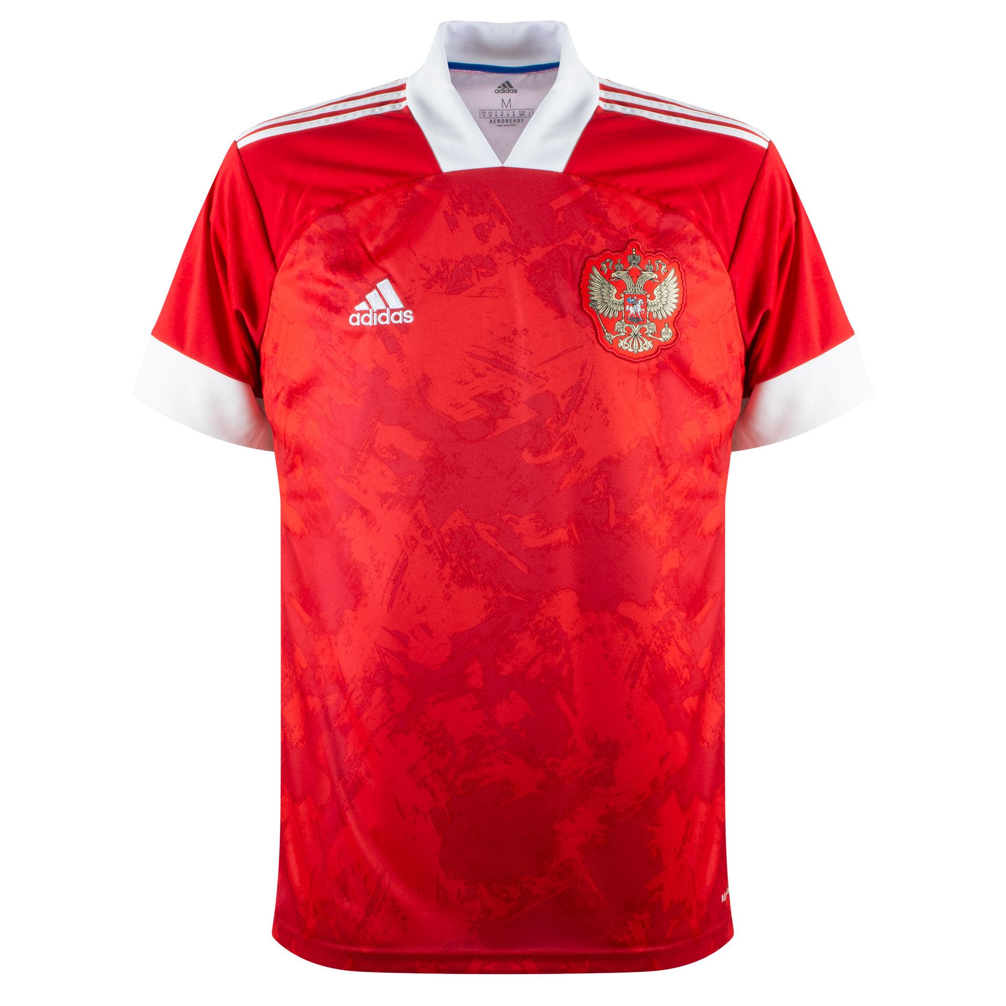 adidas Russia Home Shirt 2020-2021
