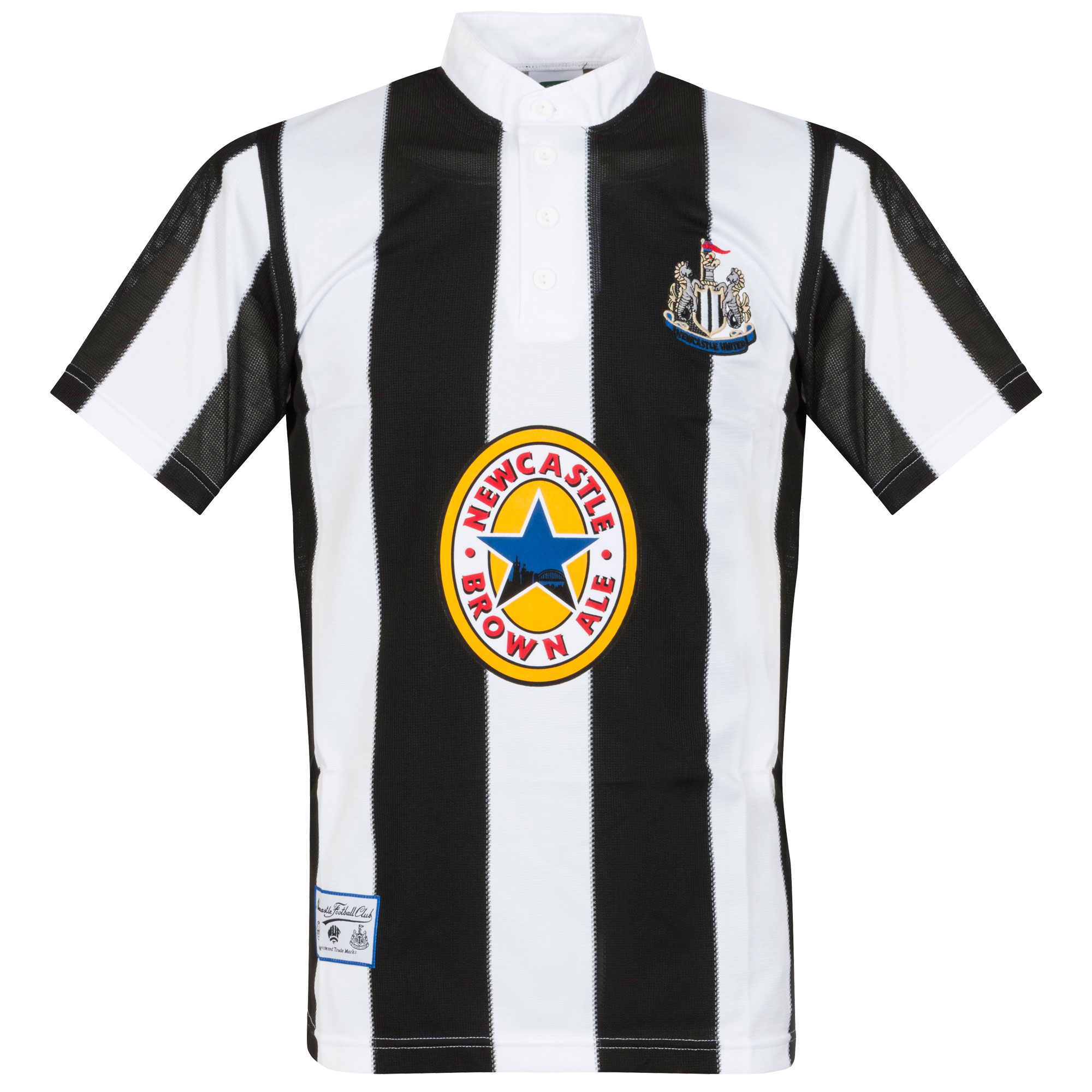 Score Draw Newcastle United Home Retro Shirt 1995-1996