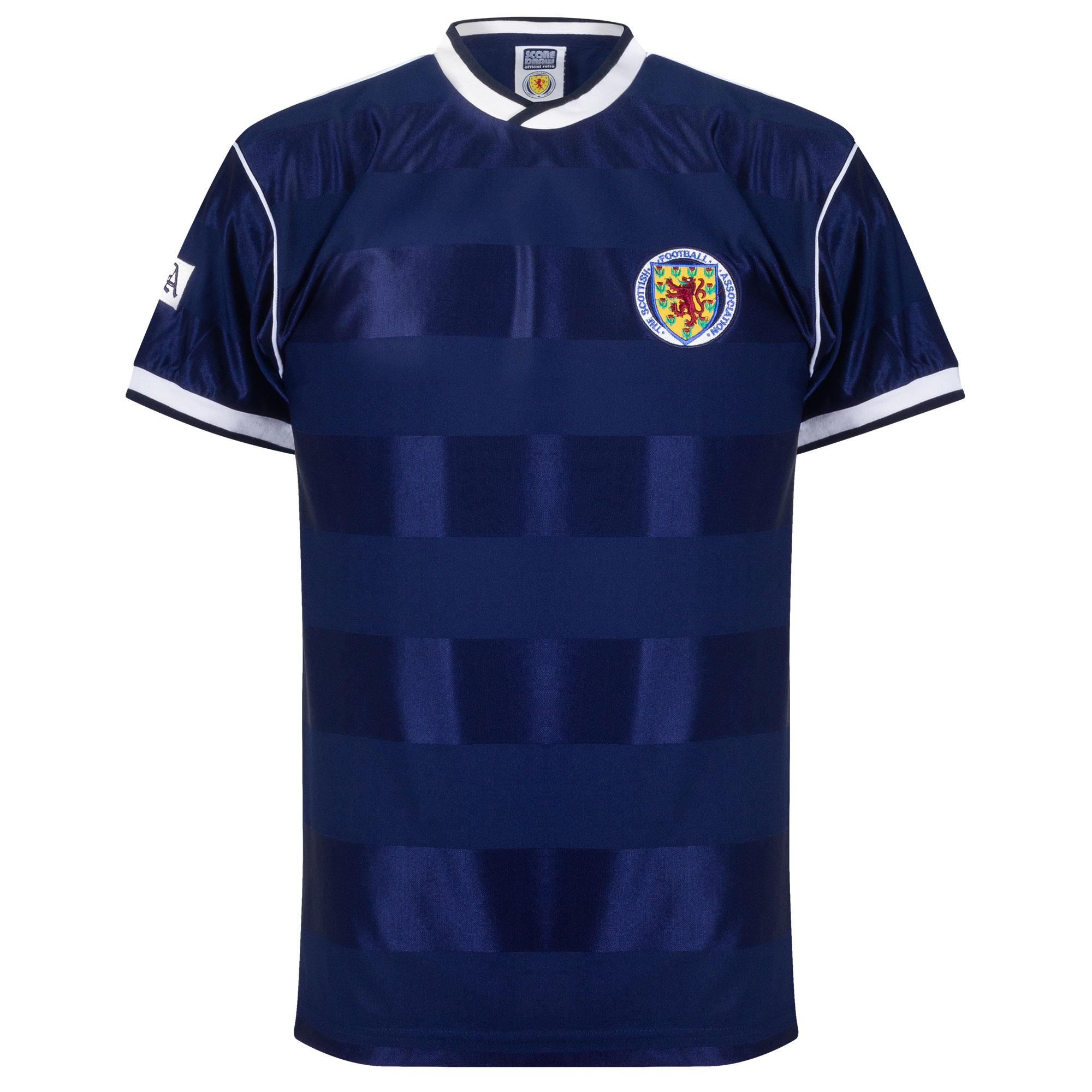 Scotland Retro home shirt