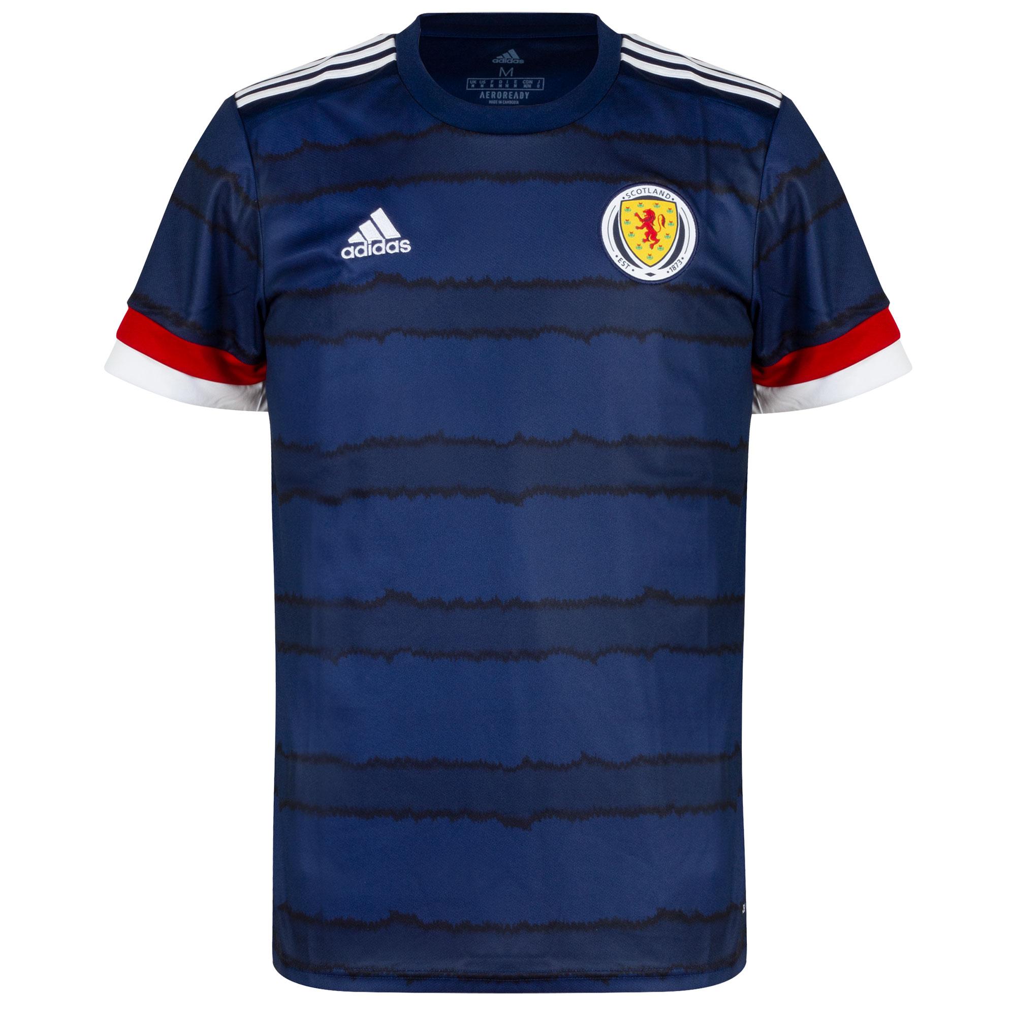 adidas Scotland Home Shirt 2020-2021