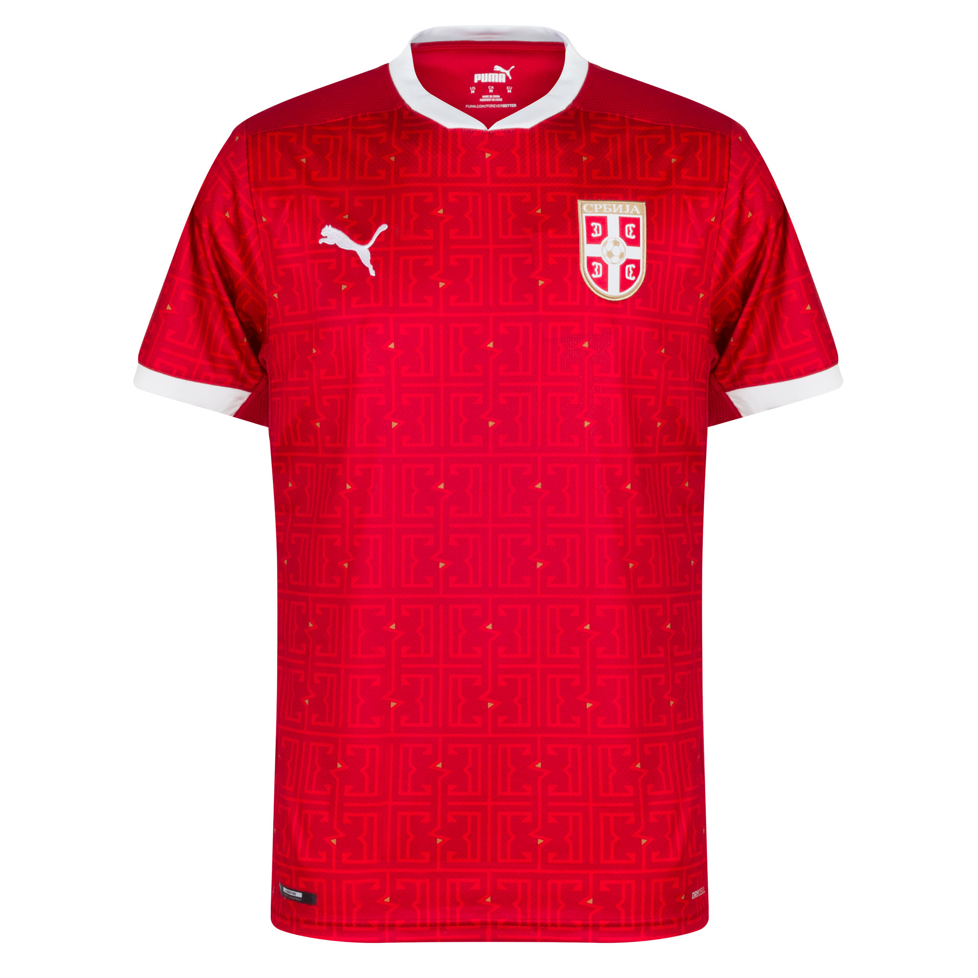 Puma Serbia Home Shirt 2020-2021
