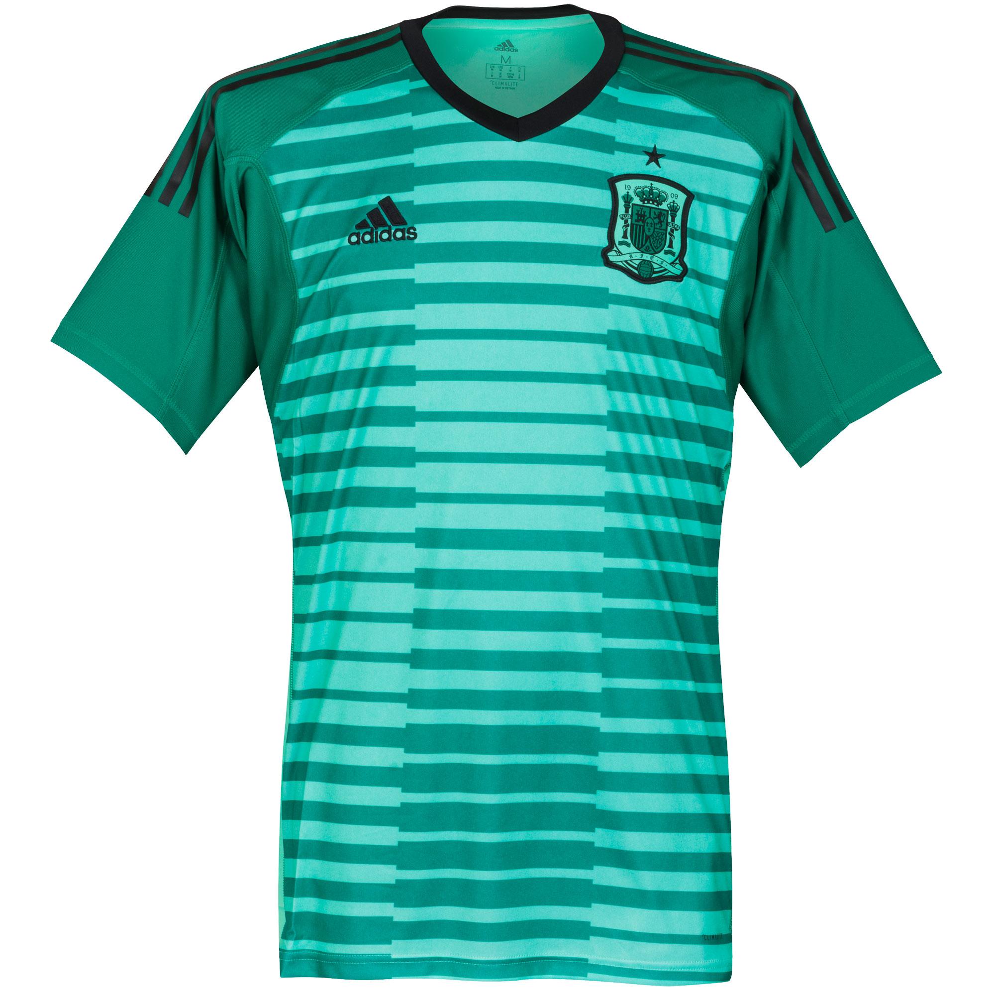 Spain Home GK Shirt 2018 2019