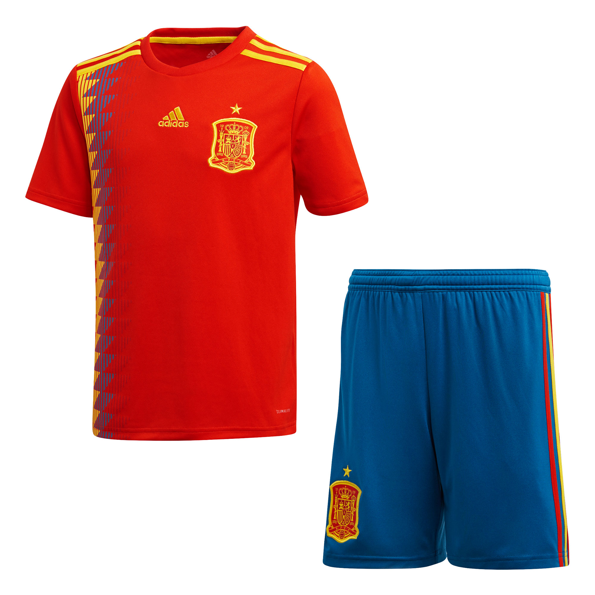 Spain Home Youth Kit 2018 2019