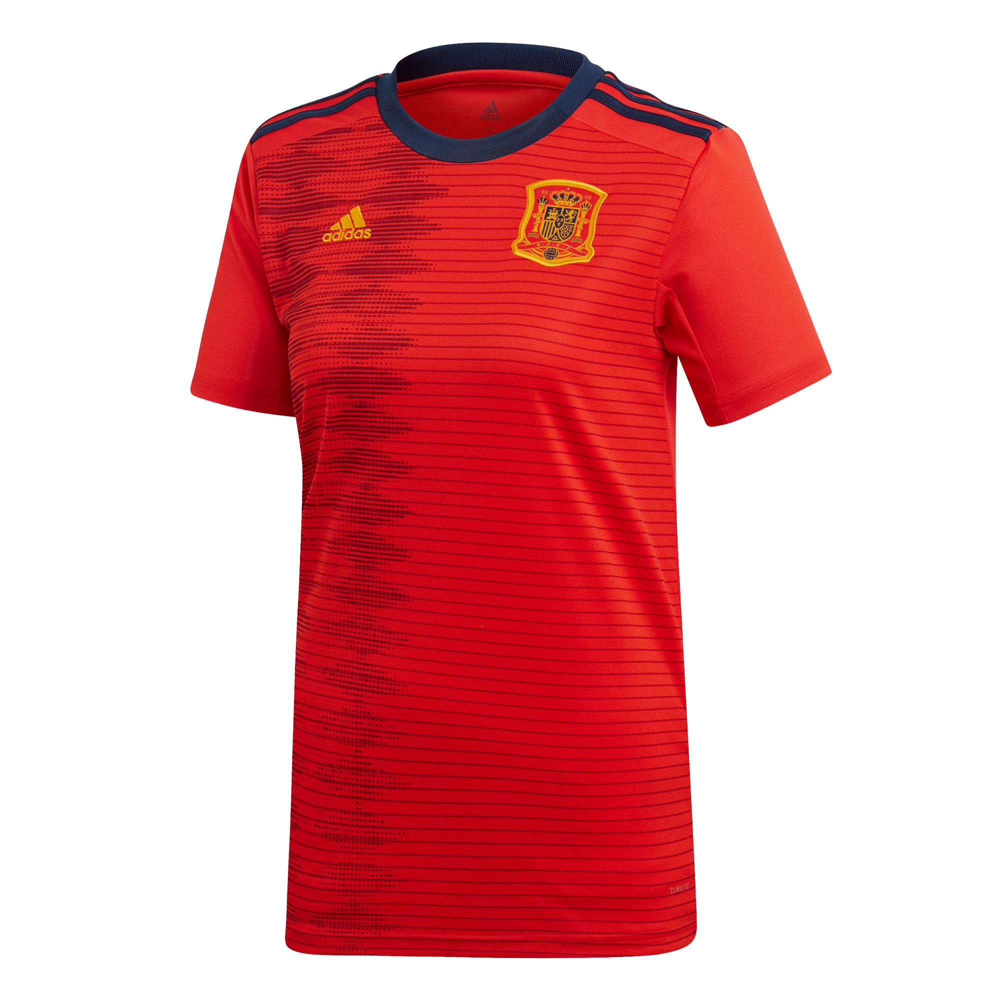 Spain Home Womens Shirt 2019 2020