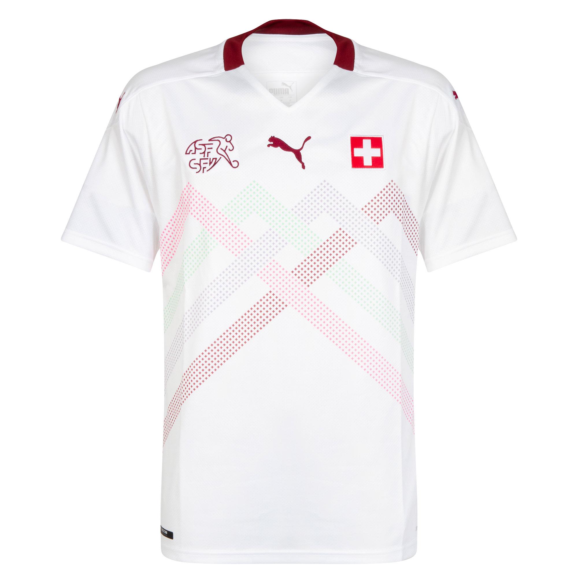 Switzerland Away shirt